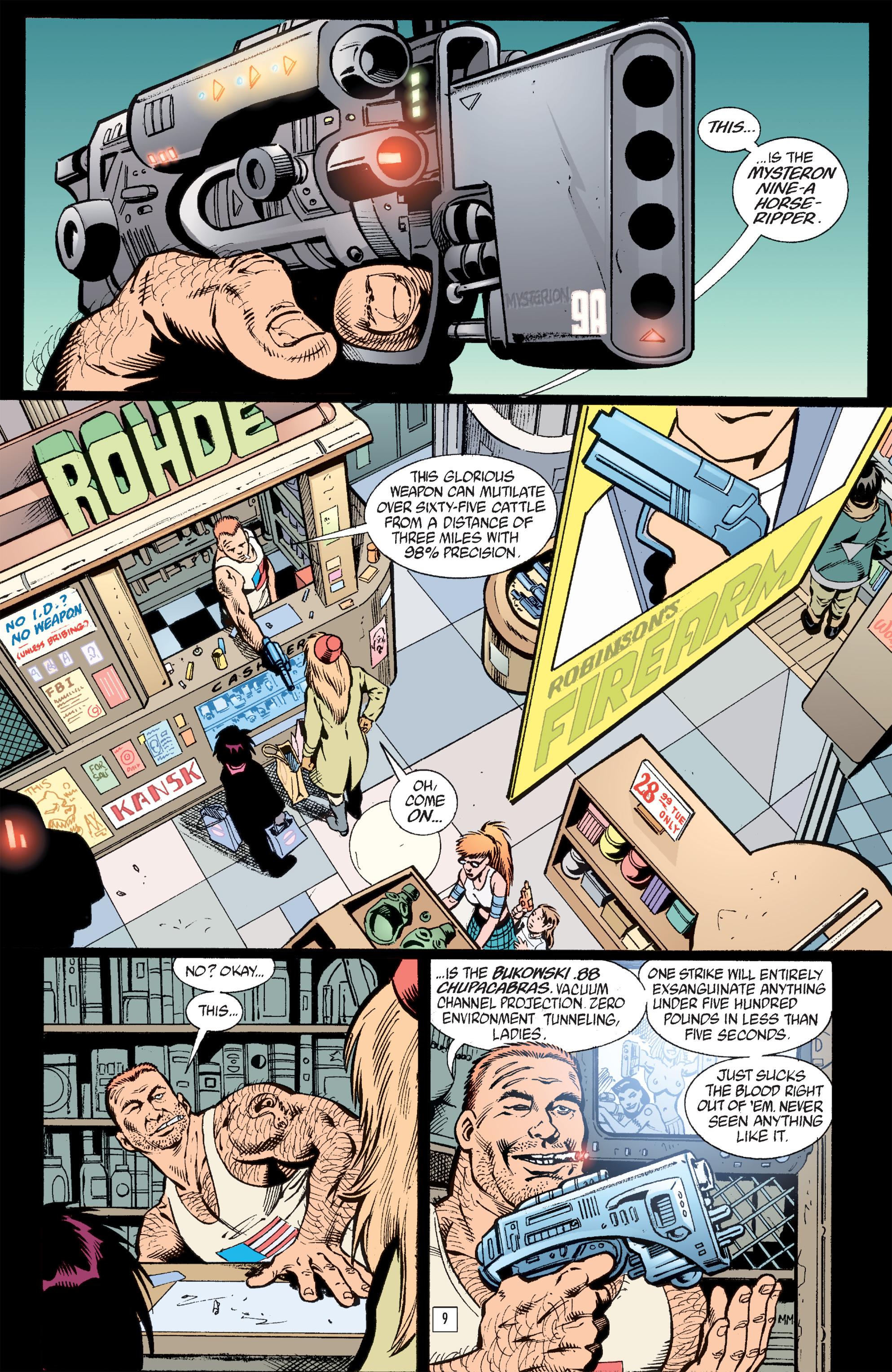 Read online Transmetropolitan comic -  Issue #33 - 10