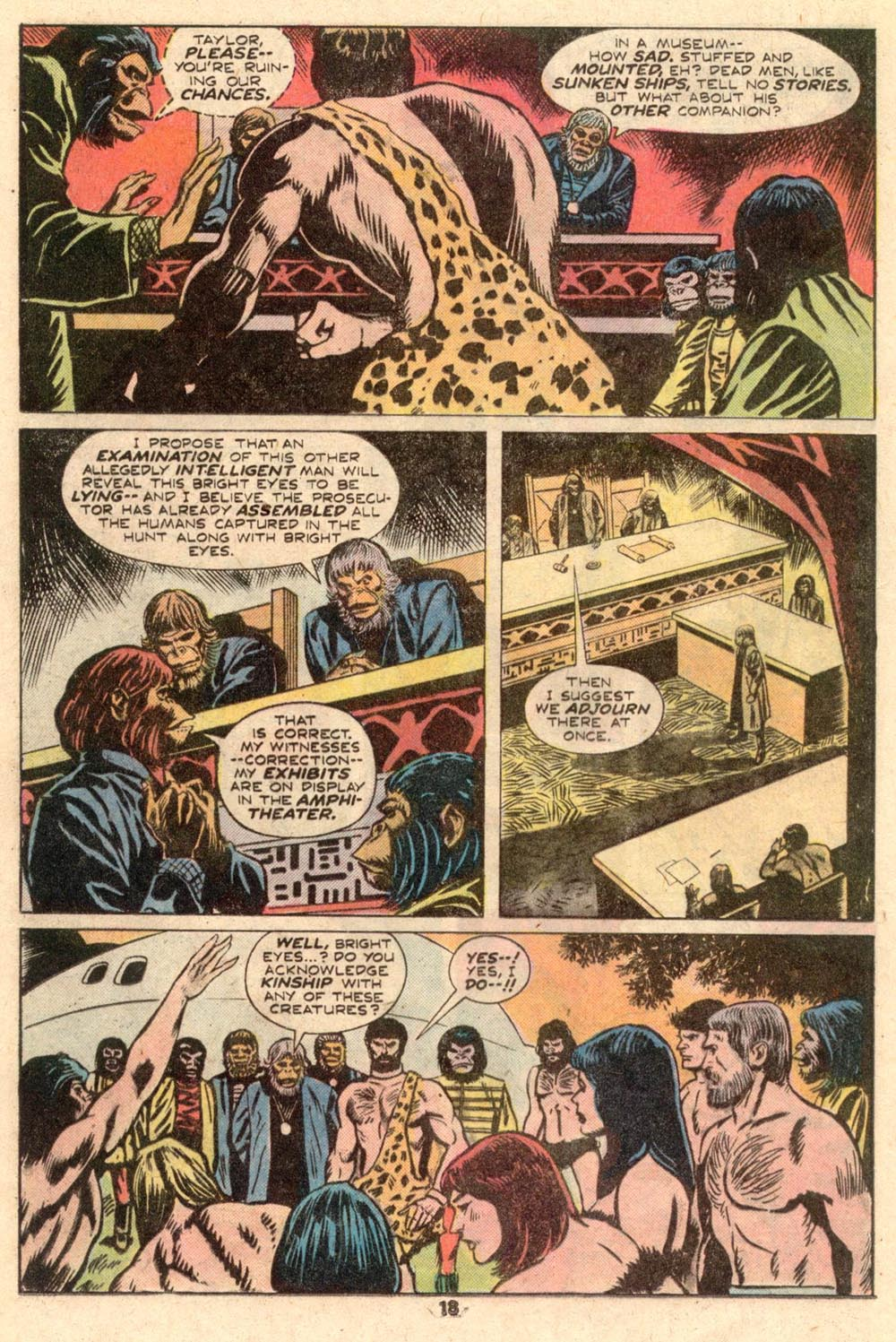Read online Adventures on the Planet of the Apes comic -  Issue #4 - 13