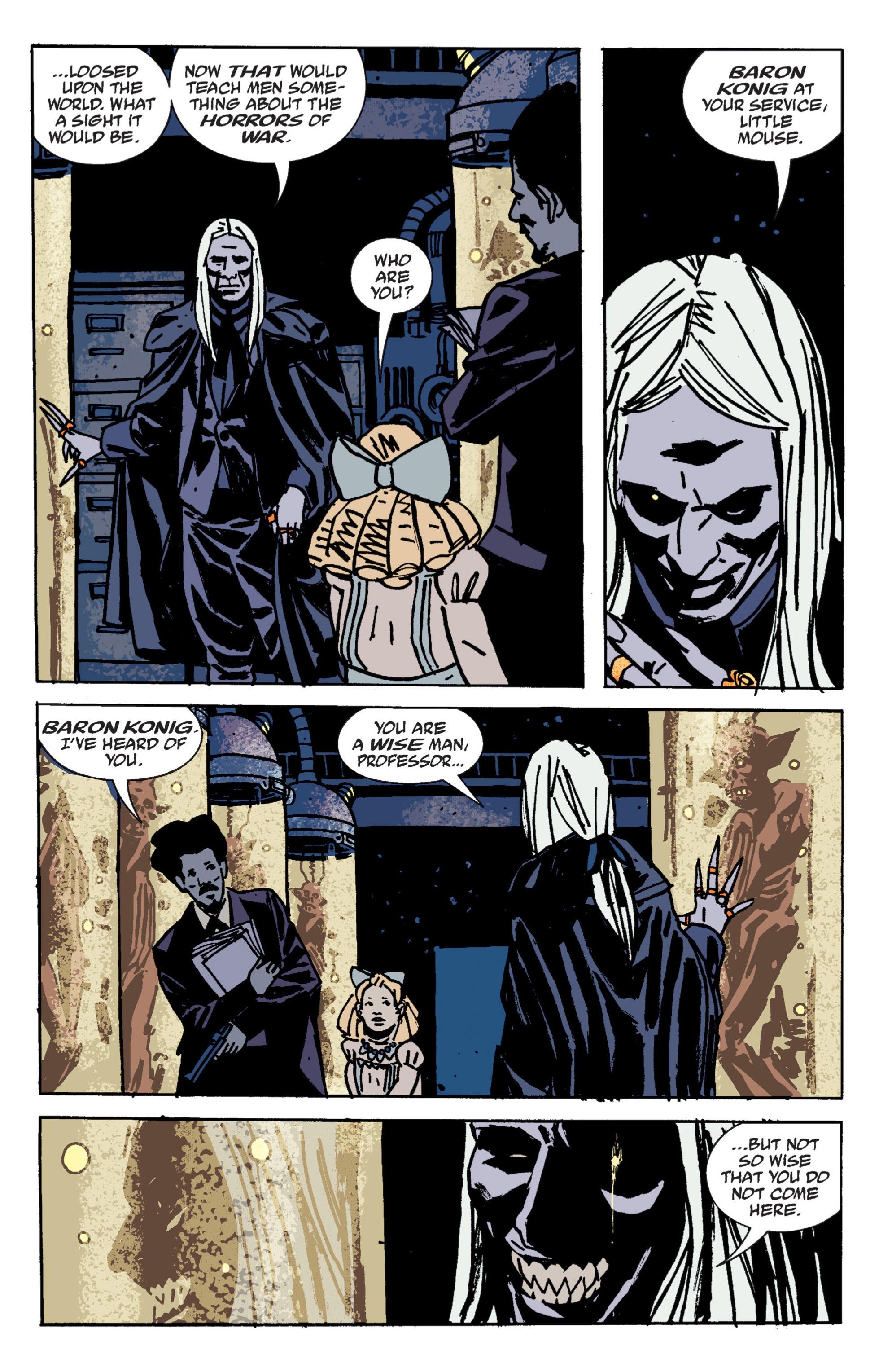 Read online B.P.R.D. (2003) comic -  Issue # TPB 9 - 75