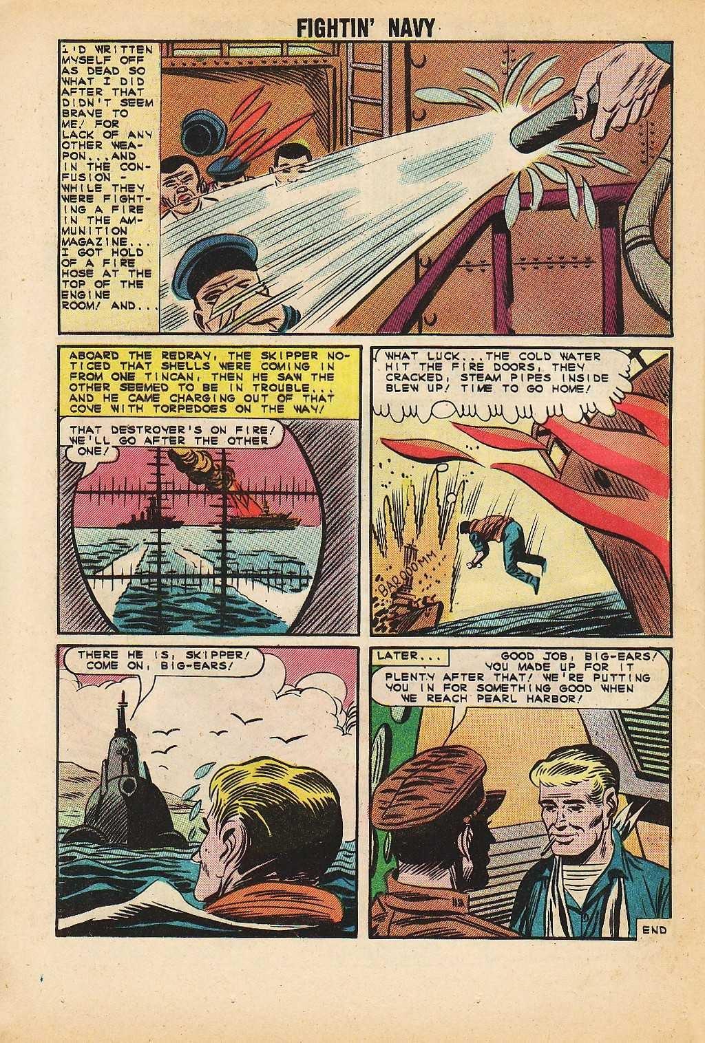 Read online Fightin' Navy comic -  Issue #116 - 24