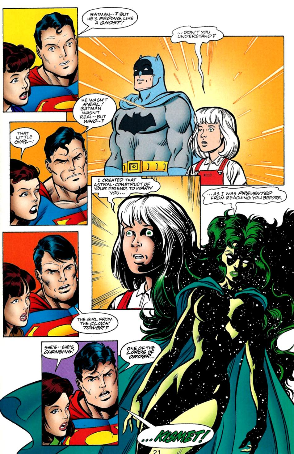 Read online Adventures of Superman (1987) comic -  Issue #560 - 22