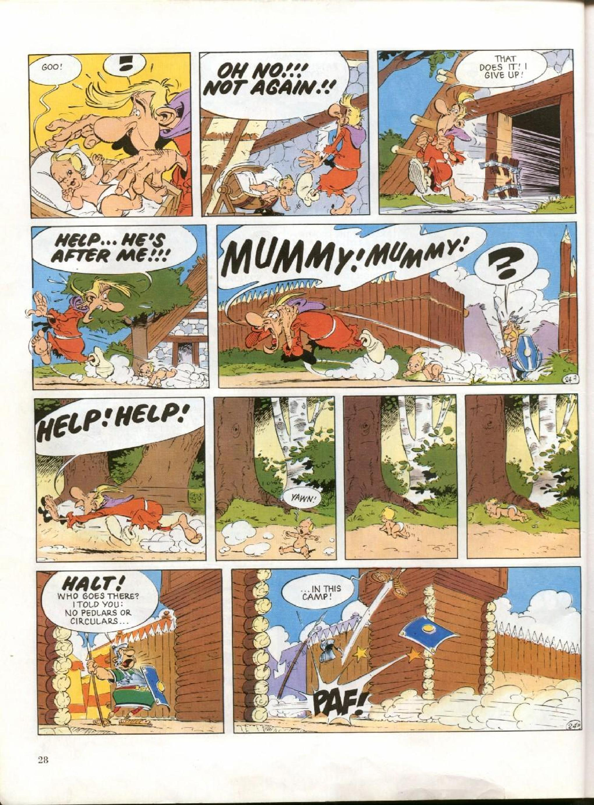 Read online Asterix comic -  Issue #27 - 25