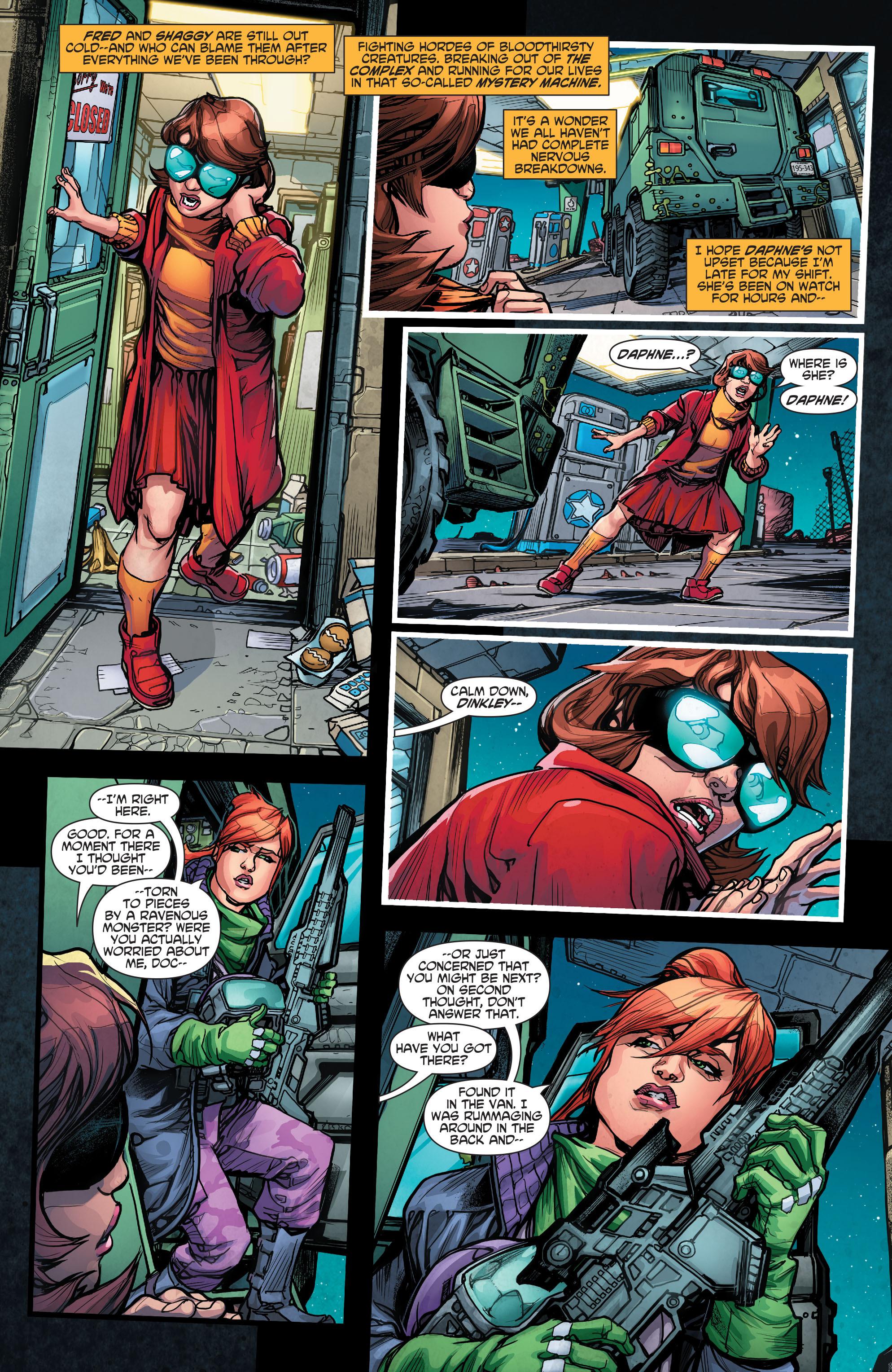 Read online Scooby Apocalypse comic -  Issue #4 - 5