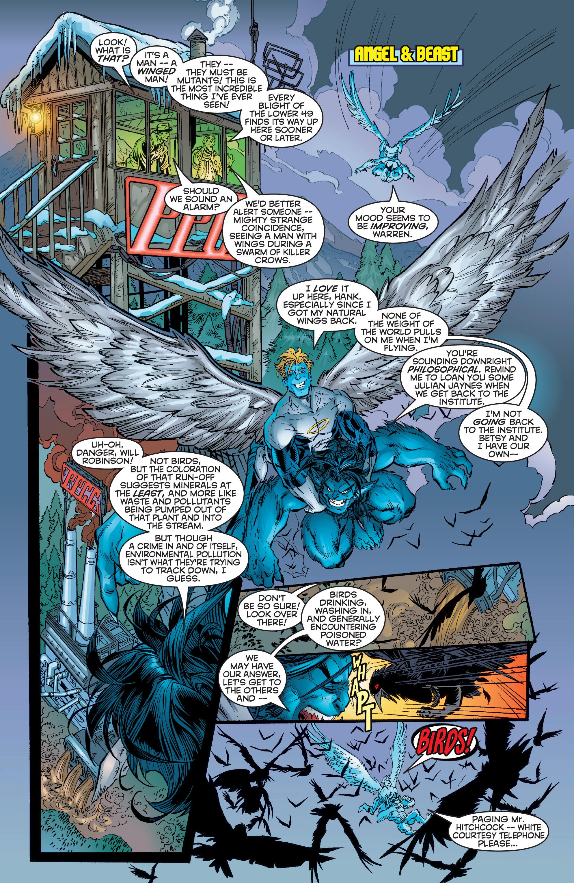 Read online Uncanny X-Men (1963) comic -  Issue #357 - 16