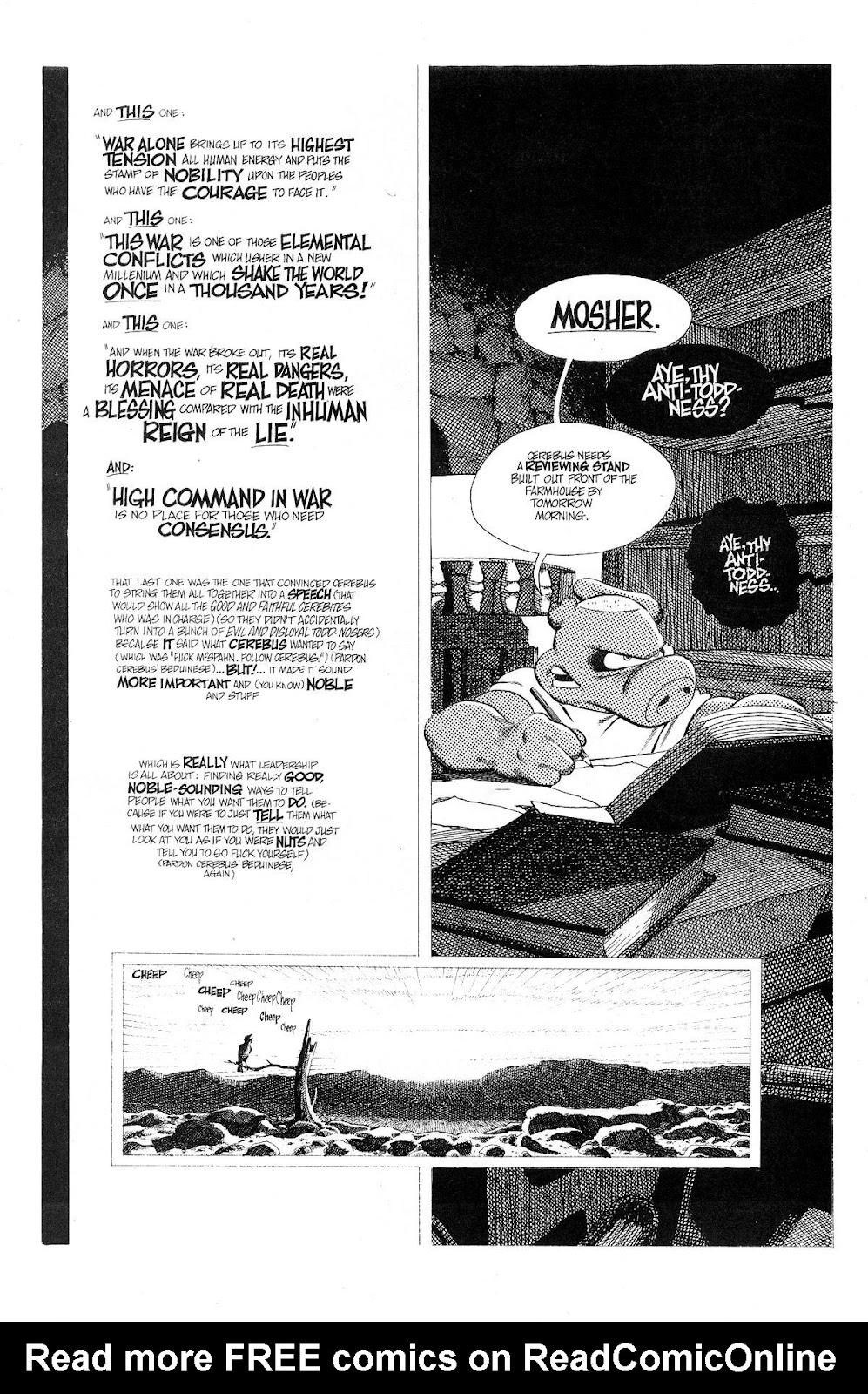 Cerebus Issue #275 #274 - English 10