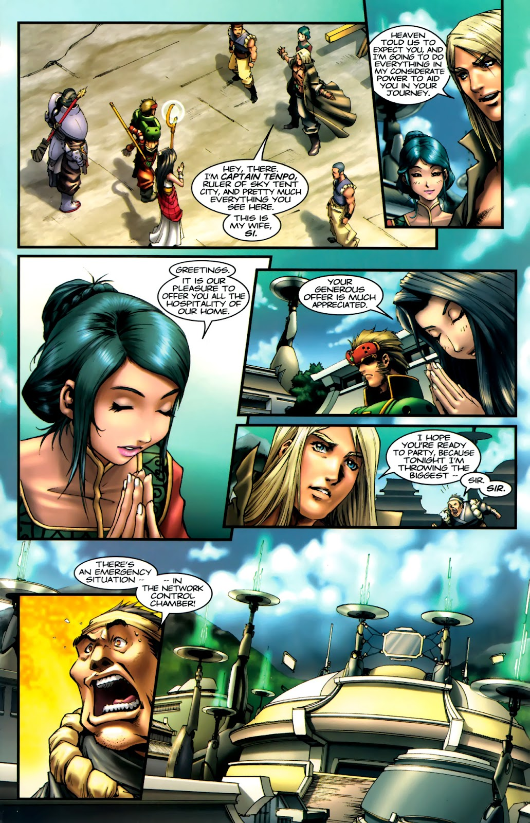 Read online Xin: Journey of the Monkey King comic -  Issue #1 - 8