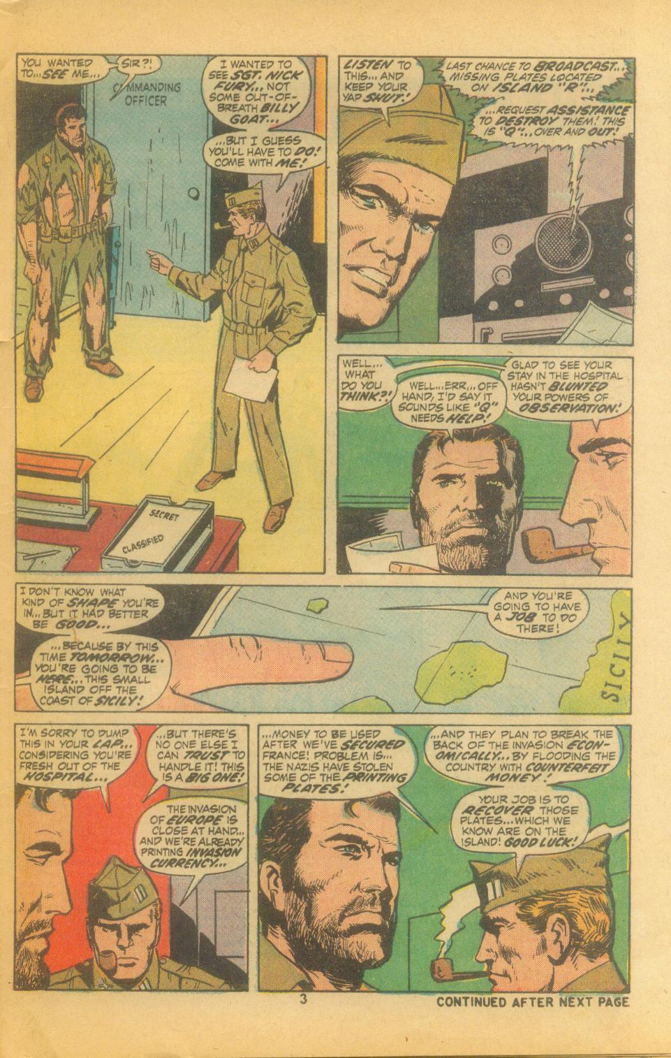 Read online Sgt. Fury comic -  Issue #102 - 5