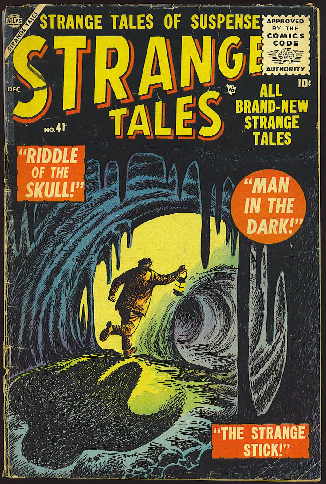 Strange Tales (1951) 41 Page 1