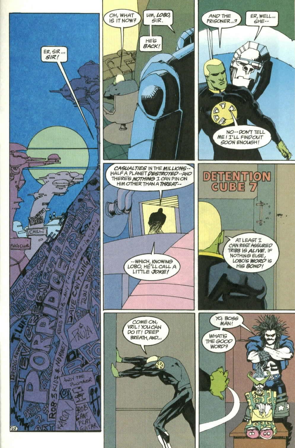 Read online Lobo (1990) comic -  Issue #4 - 22