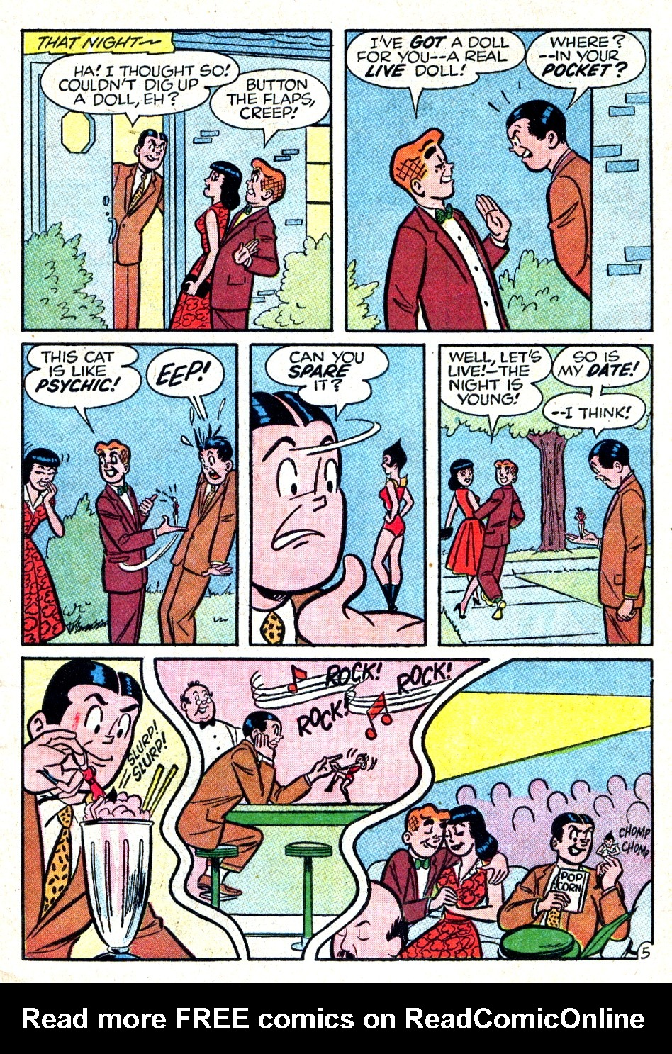Read online Archie (1960) comic -  Issue #123 - 7