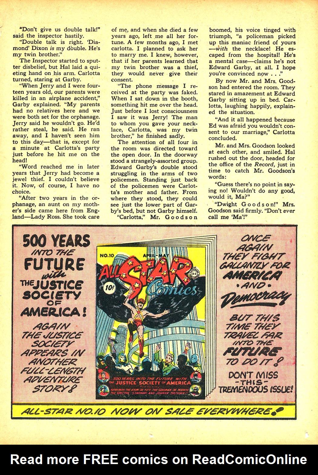 Read online Sensation (Mystery) Comics comic -  Issue #5 - 47