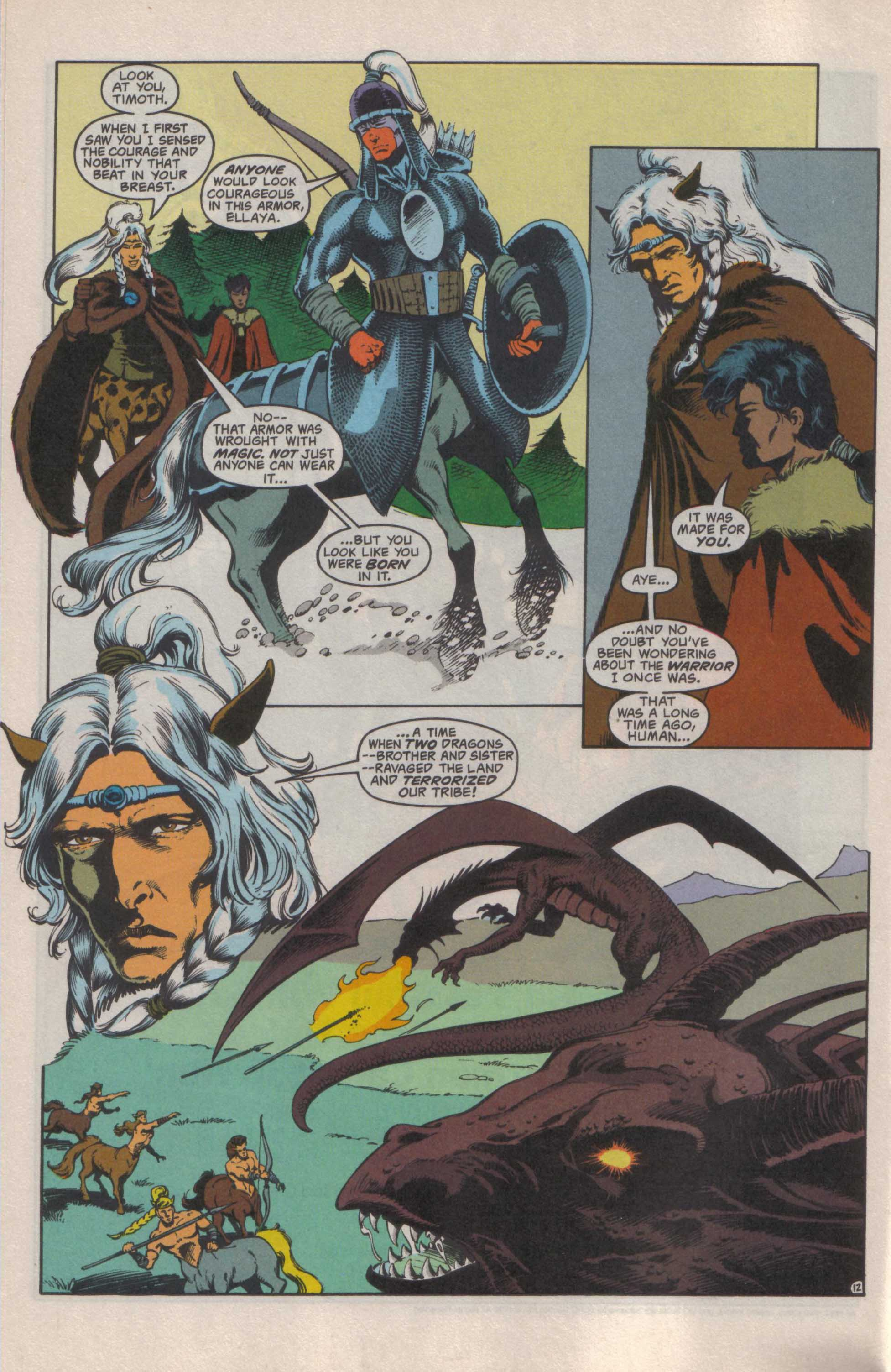Read online Advanced Dungeons & Dragons comic -  Issue #25 - 13