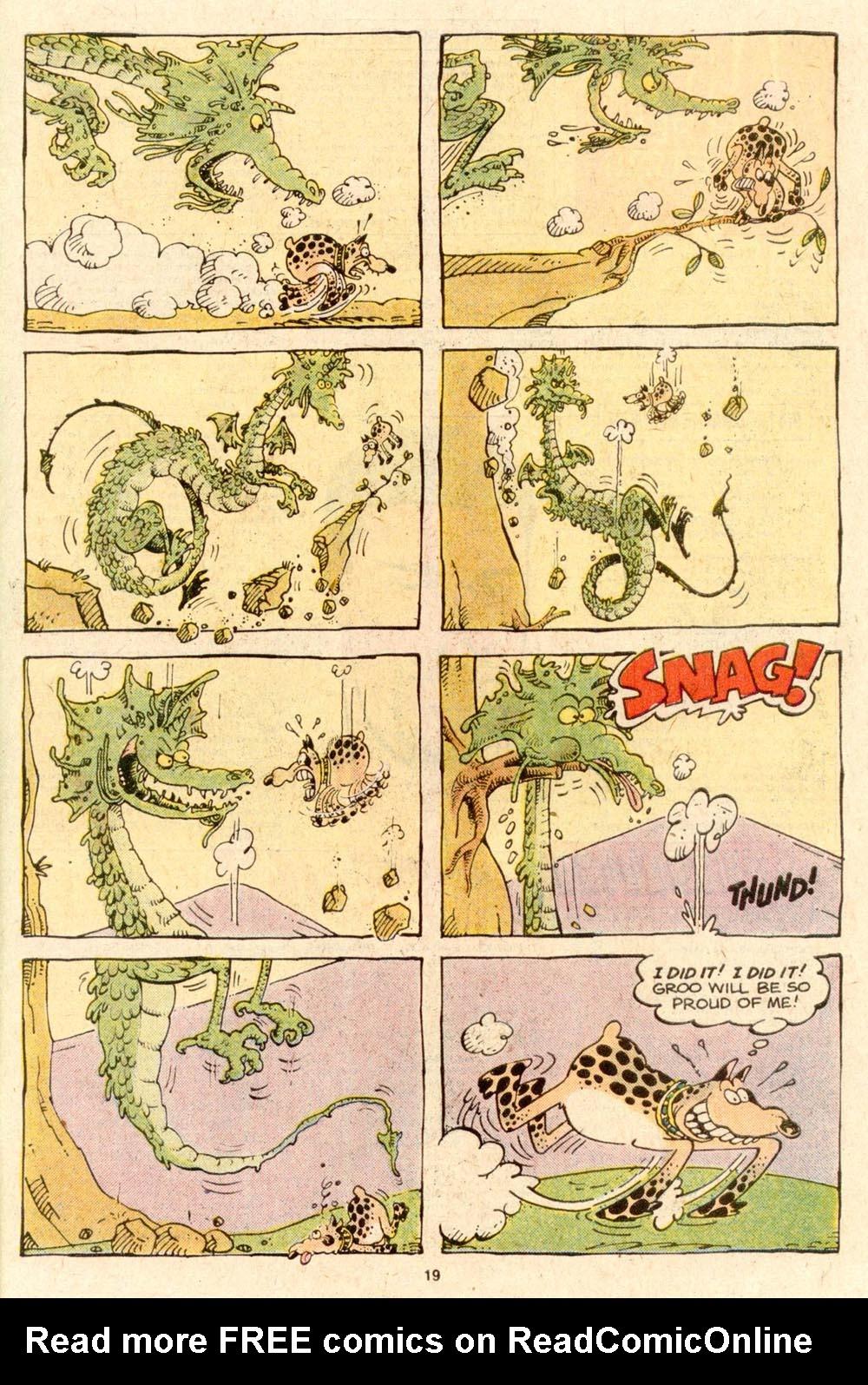 Read online Sergio Aragonés Groo the Wanderer comic -  Issue #53 - 21