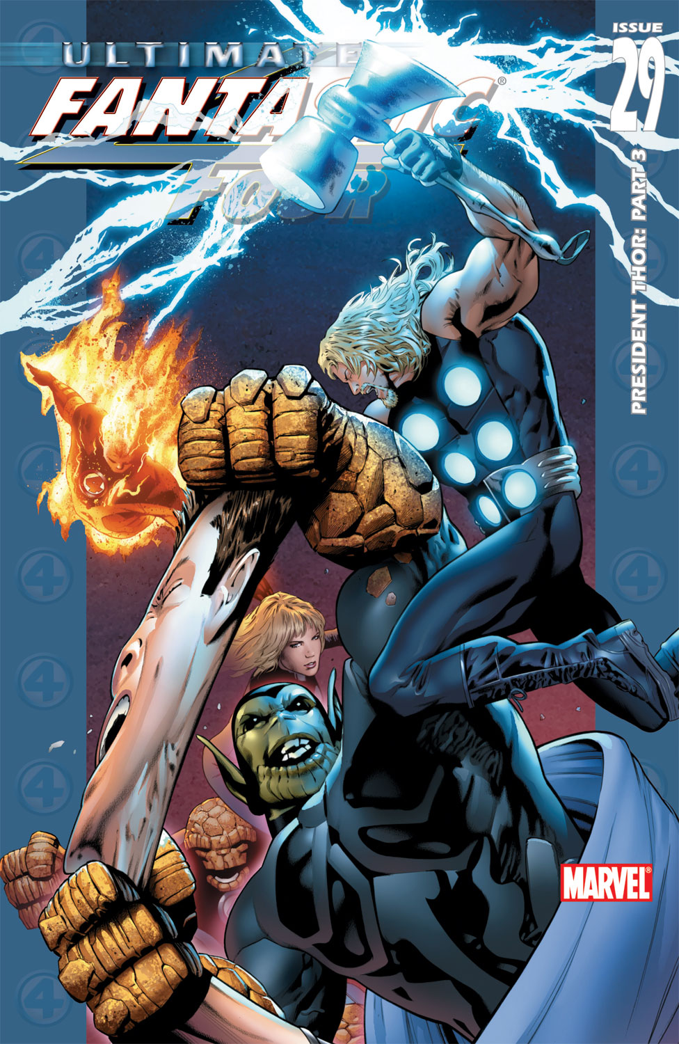 Read online Ultimate Fantastic Four (2004) comic -  Issue #29 - 1