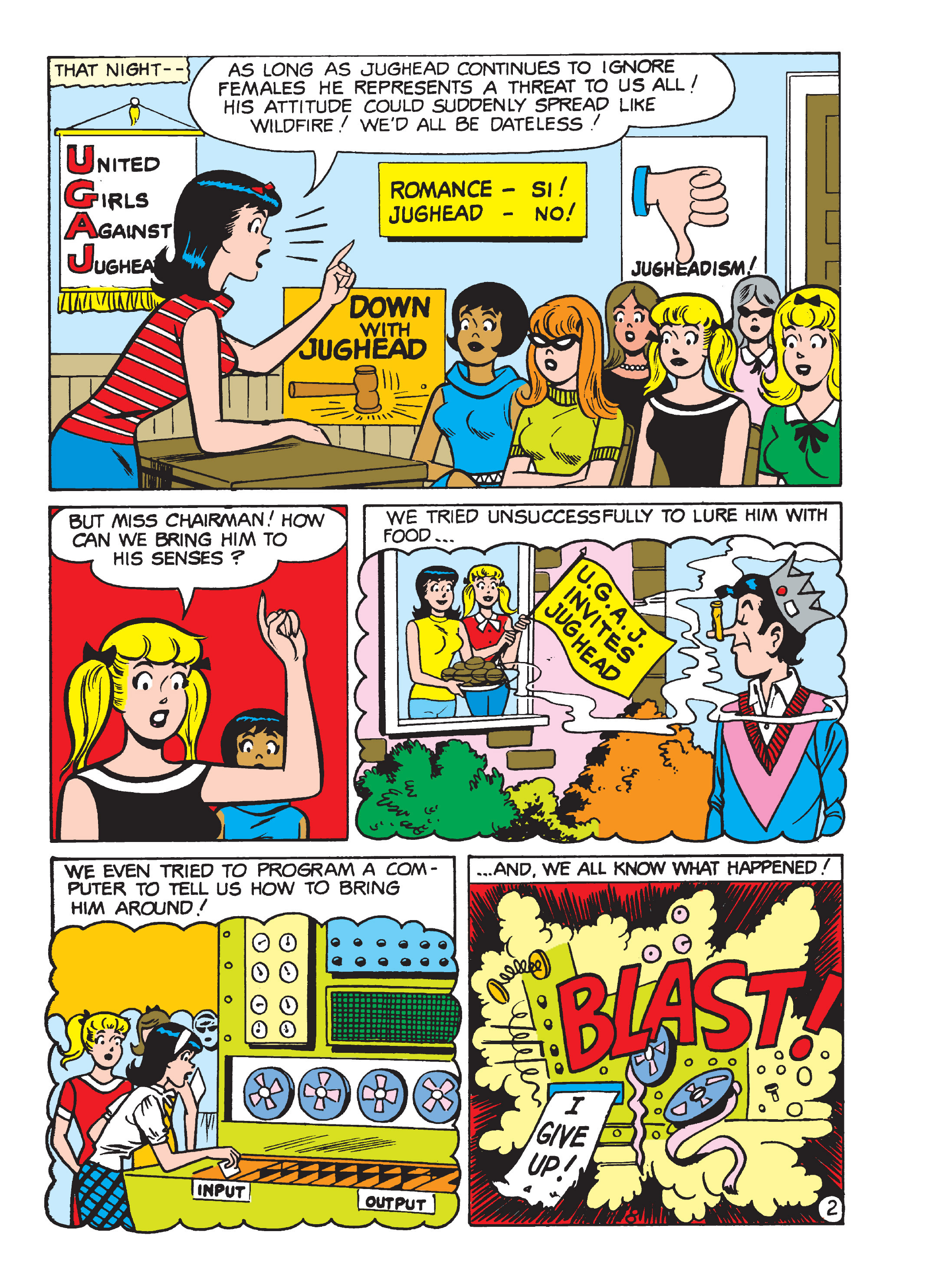 Read online Archie 1000 Page Comics Blowout! comic -  Issue # TPB (Part 4) - 133