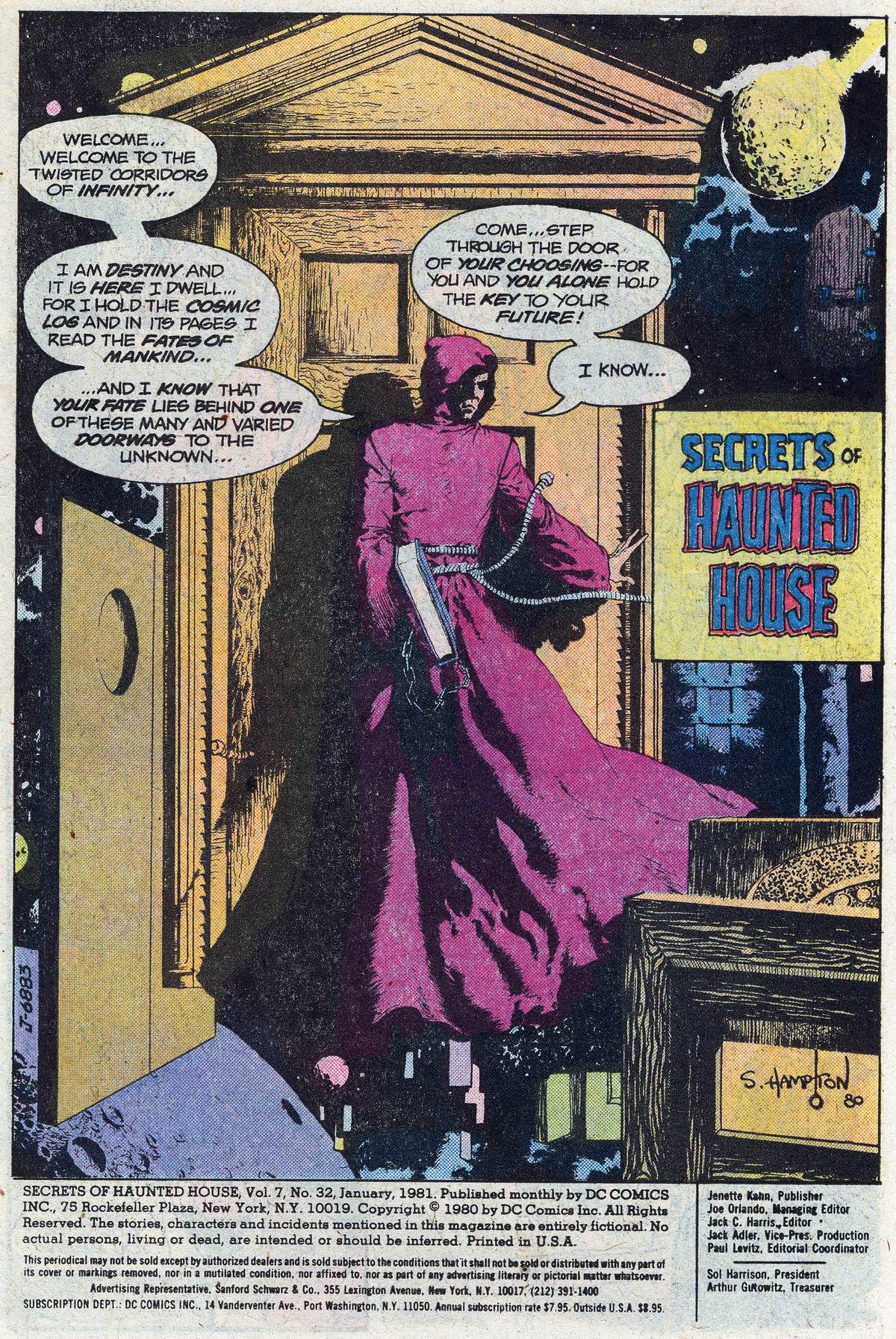 Read online Secrets of Haunted House comic -  Issue #32 - 3