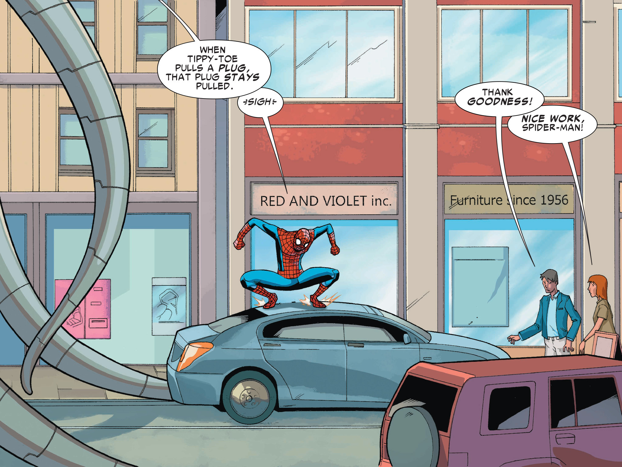 Read online Ultimate Spider-Man (Infinite Comics) (2016) comic -  Issue #1 - 48