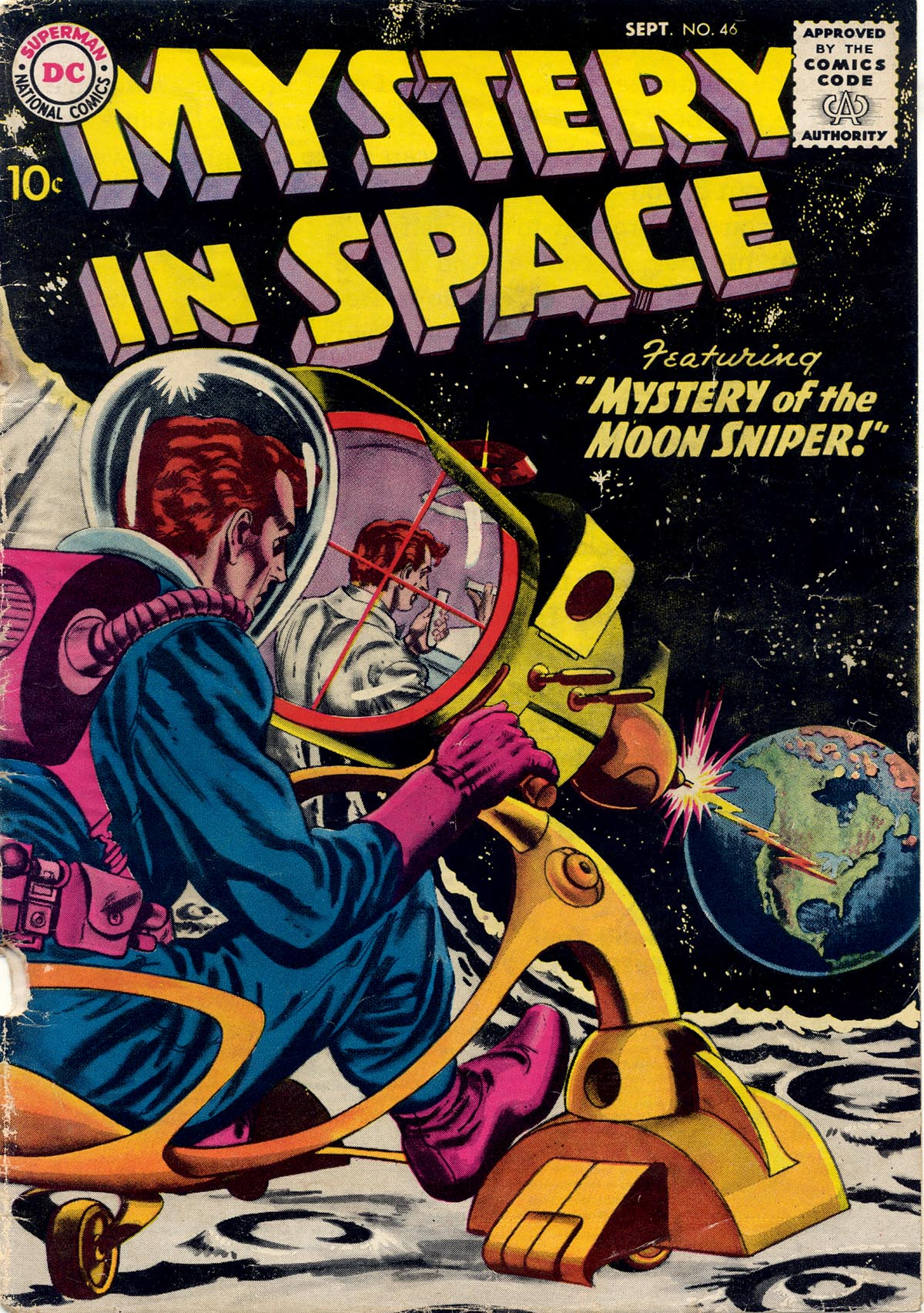 Mystery in Space (1951) issue 46 - Page 1
