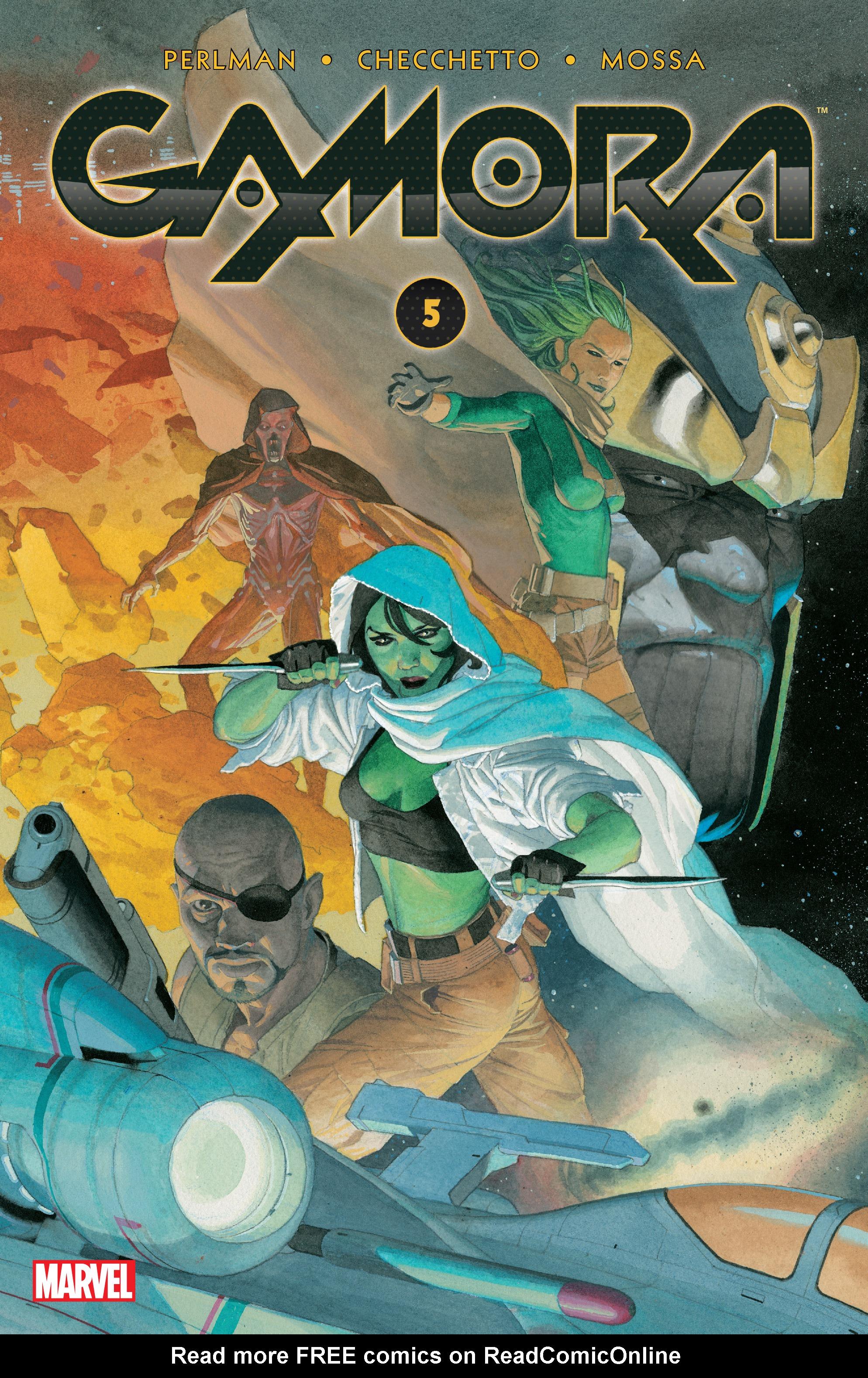 Read online Gamora comic -  Issue #5 - 1