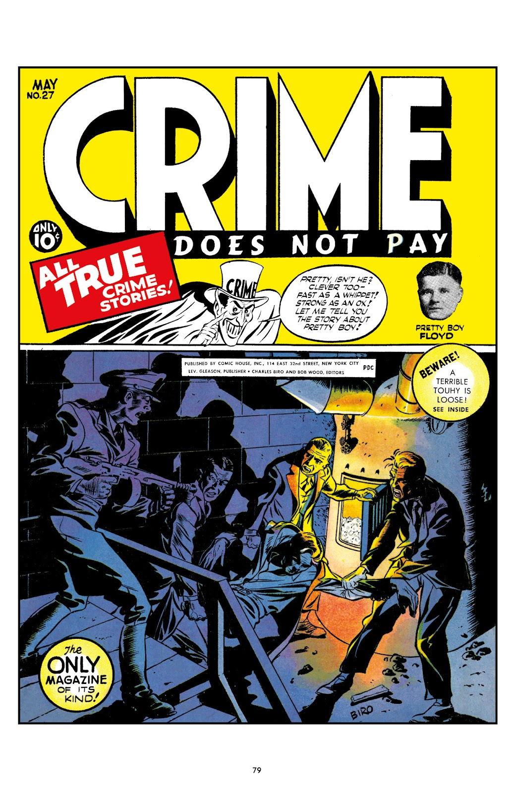 Read online Crime Does Not Pay Archives comic -  Issue # TPB 2 (Part 1) - 79