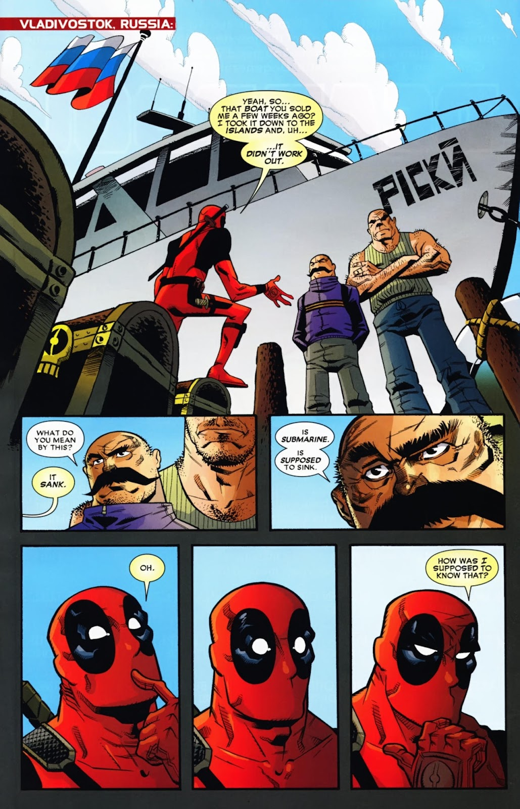 Read online Deadpool (2008) comic -  Issue #13 - 3