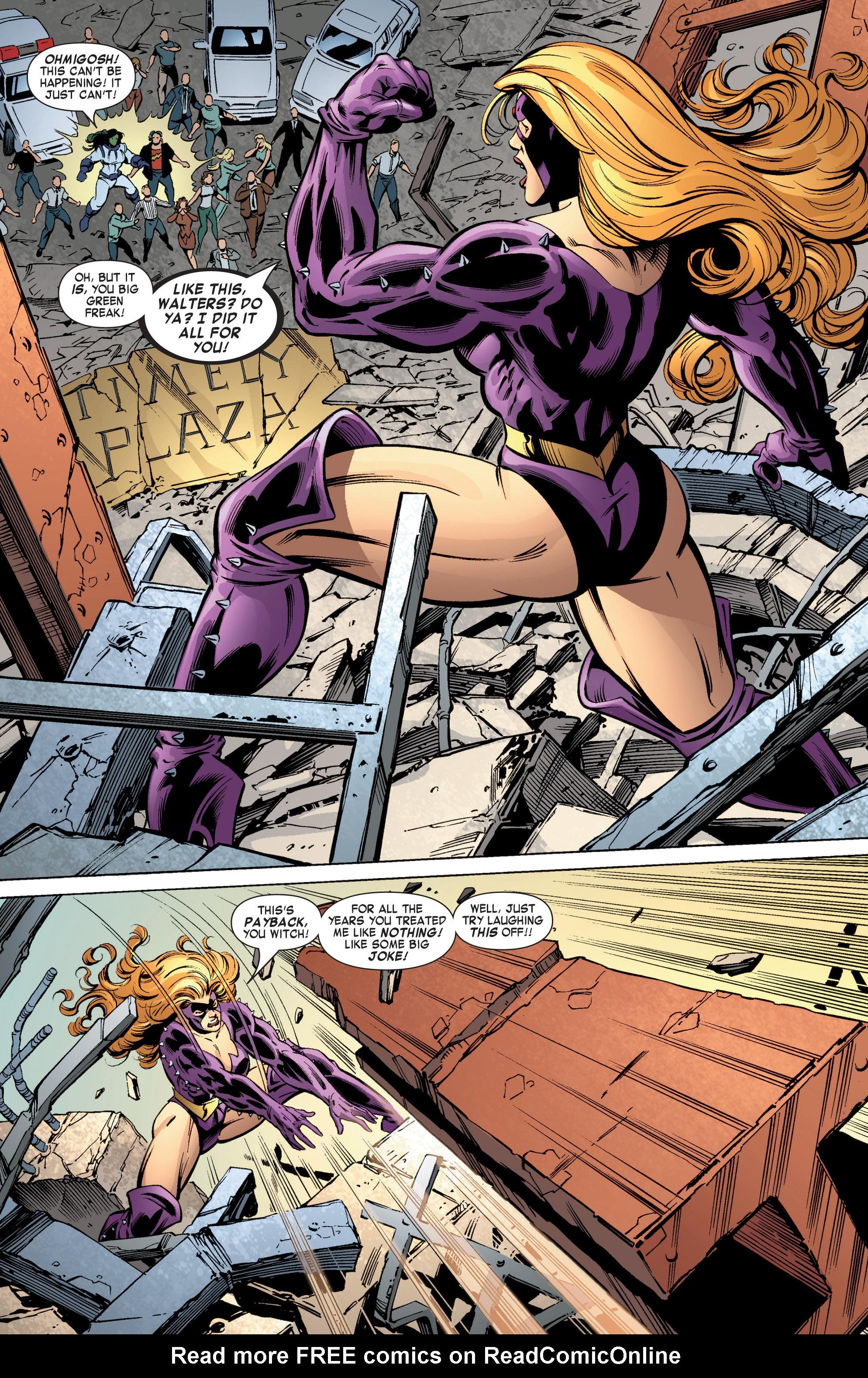 Read online She-Hulk (2004) comic -  Issue #11 - 18