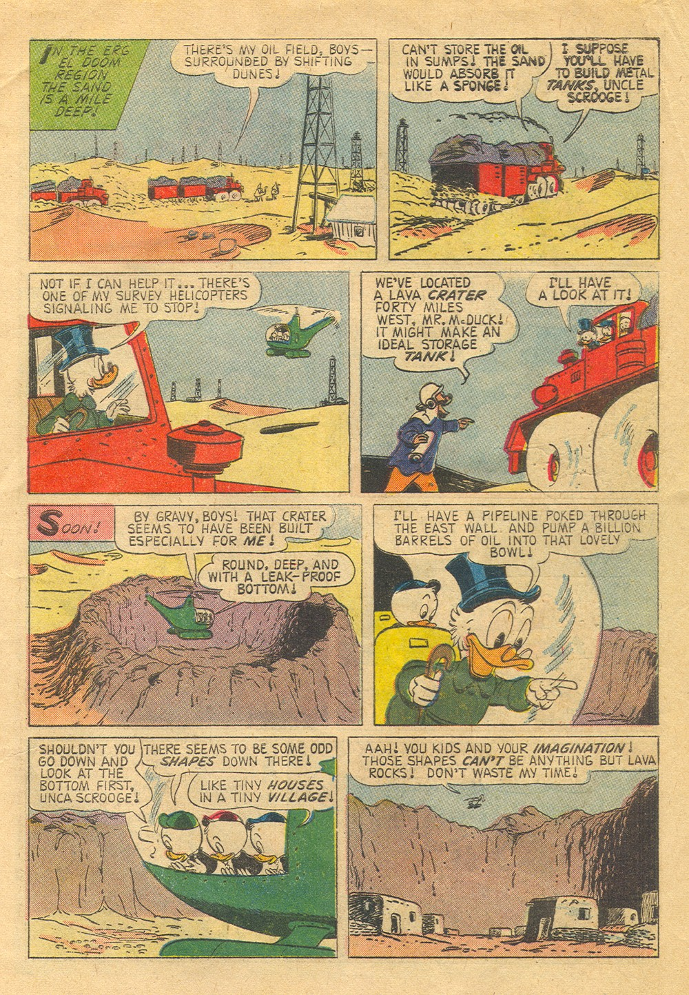 Read online Uncle Scrooge (1953) comic -  Issue #30 - 5