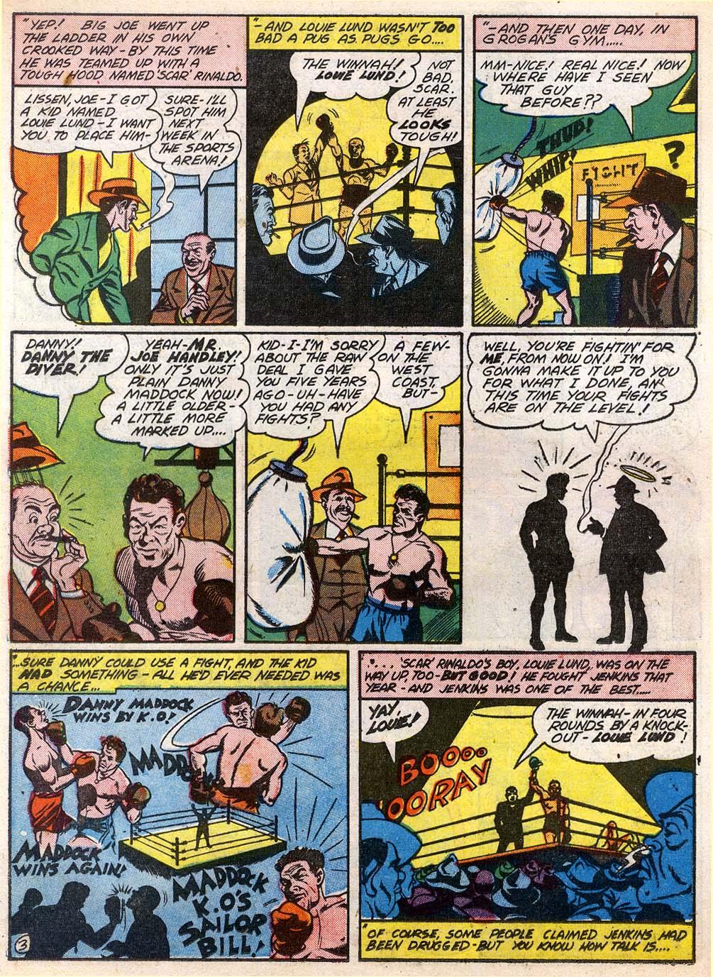 Read online Sensation (Mystery) Comics comic -  Issue #27 - 34