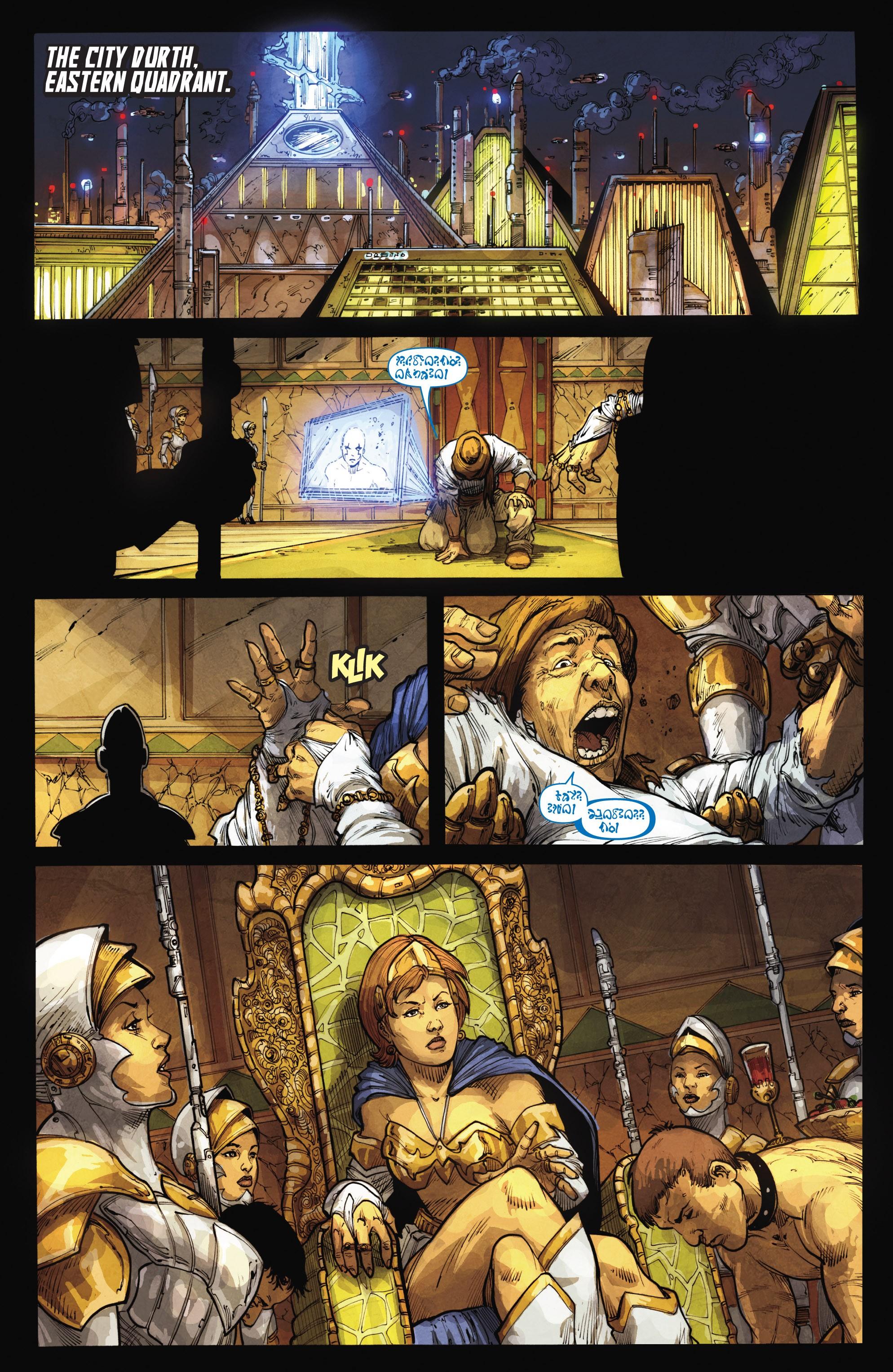 Read online Skaar: Son of Hulk comic -  Issue #15 - 11