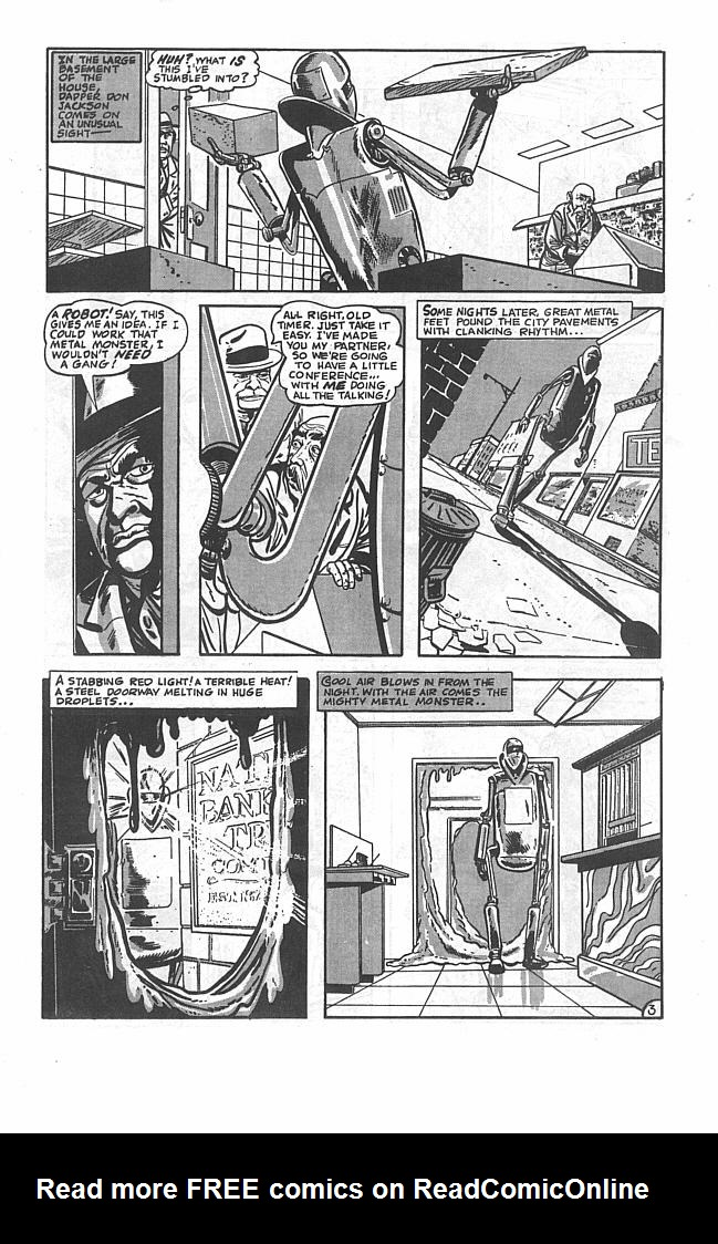 Read online Golden-Age Men of Mystery comic -  Issue #3 - 5