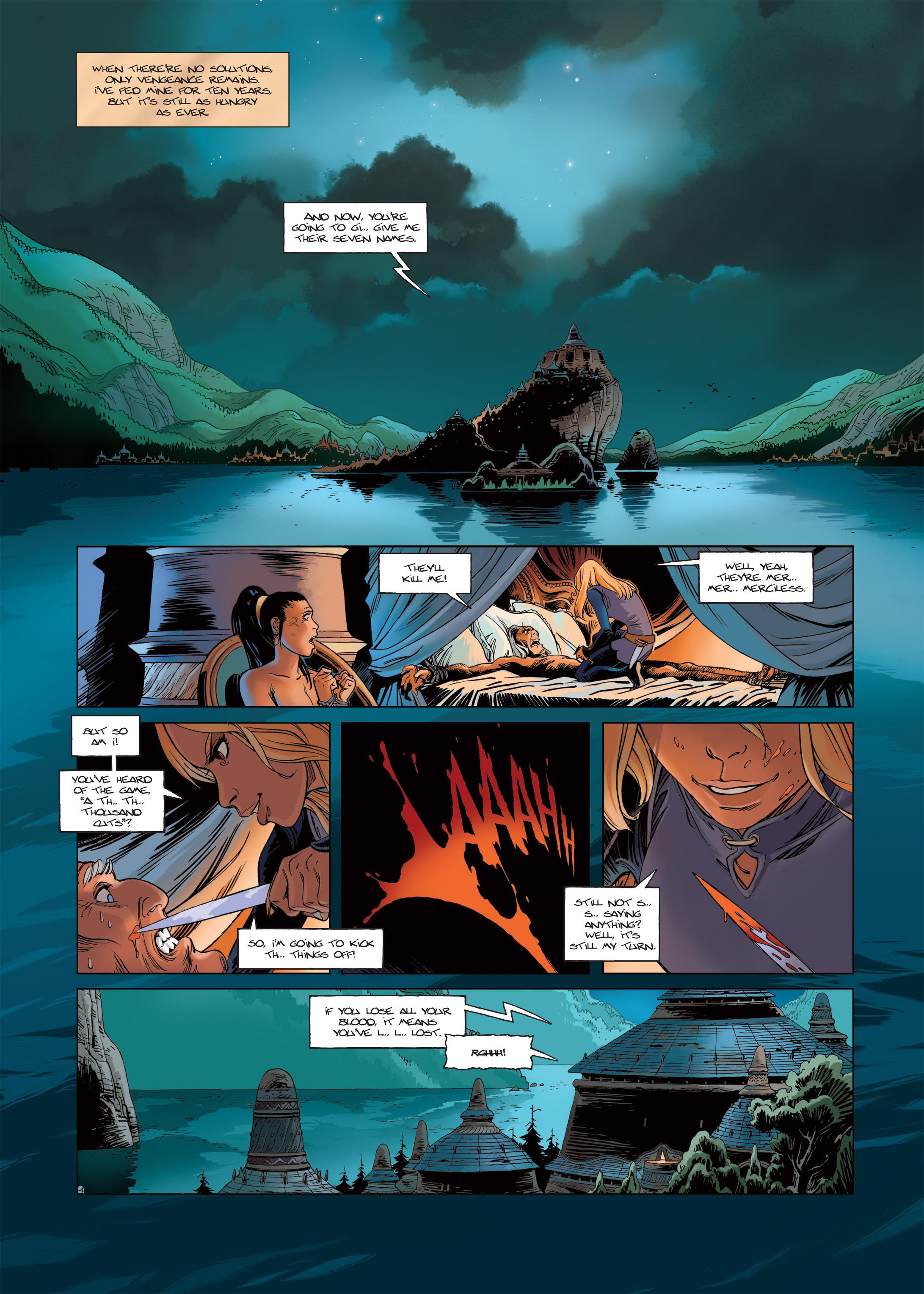 Read online Sangre Vol. 1: Sangre the Survivor comic -  Issue # Full - 3