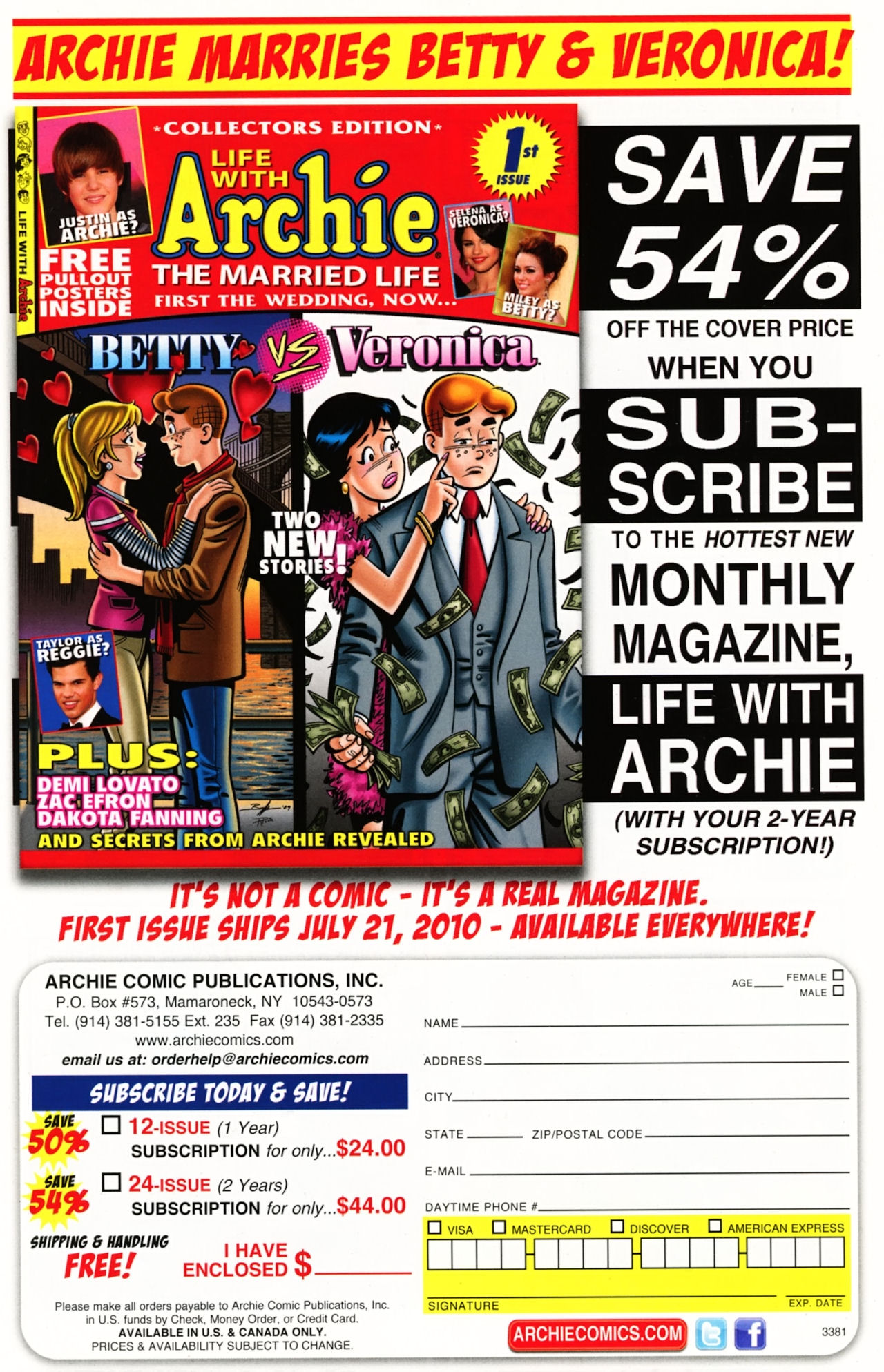 Read online Archie (1960) comic -  Issue #611 - 7