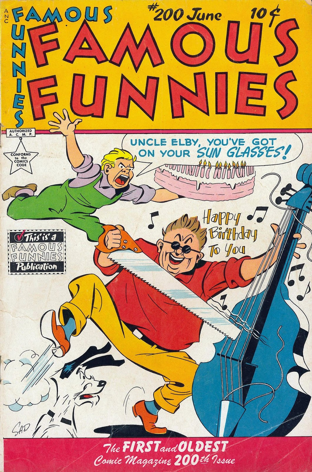 Read online Famous Funnies comic -  Issue #200 - 1