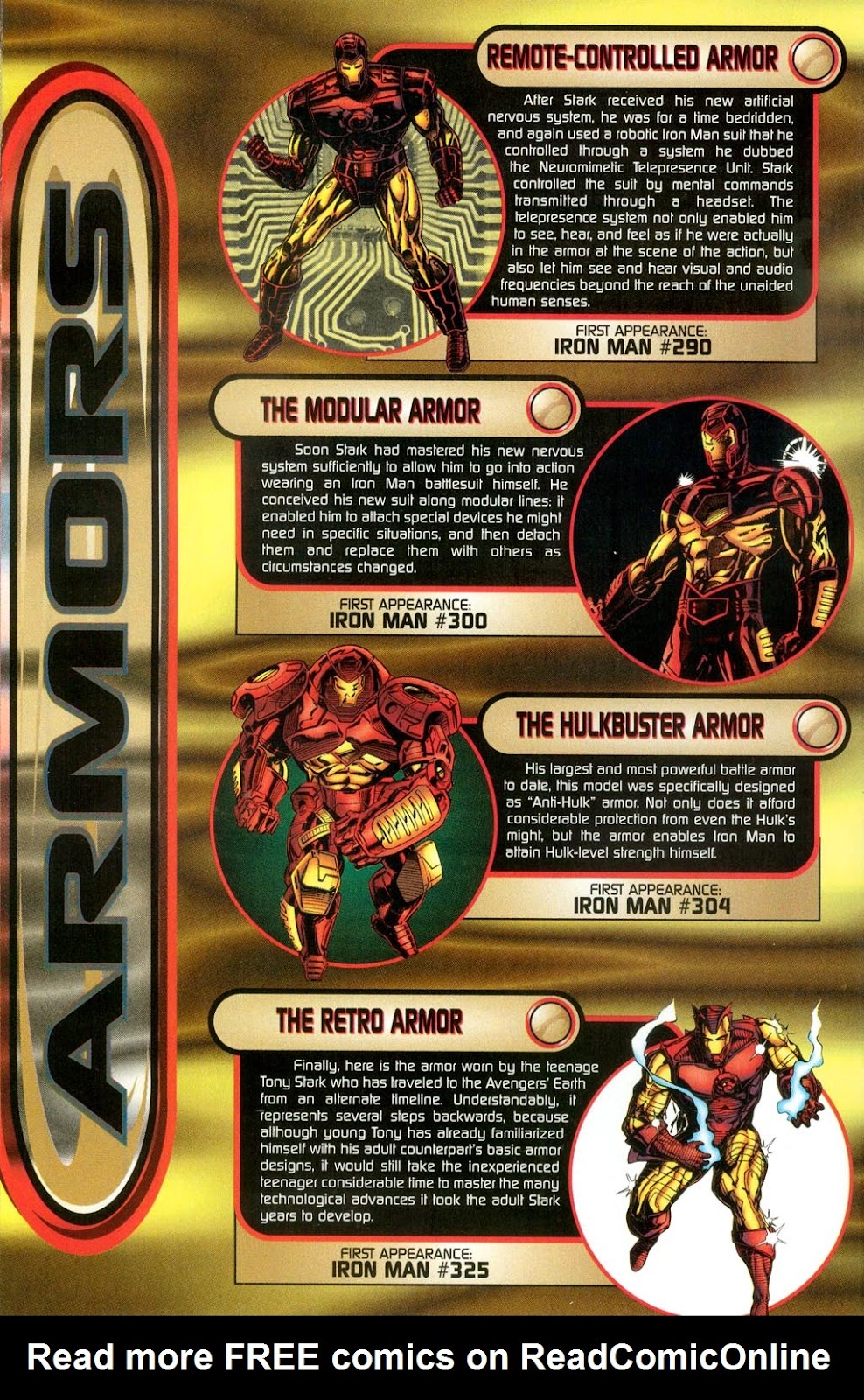 Read online Iron Man: The Legend comic -  Issue # Full - 20