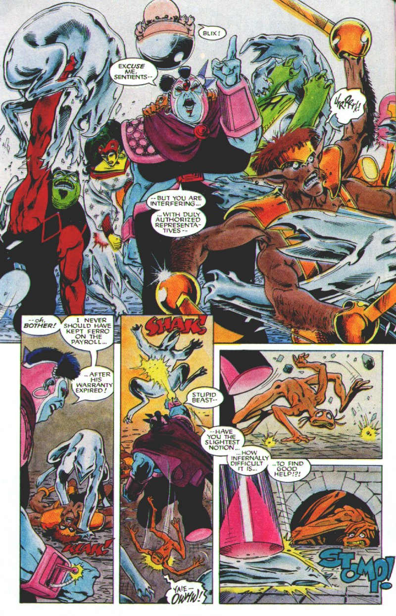 Read online Excalibur: The Sword is Drawn comic -  Issue # Full - 37
