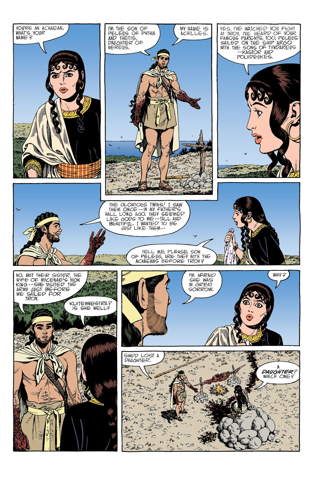 Read online Age of Bronze comic -  Issue #34 - 17
