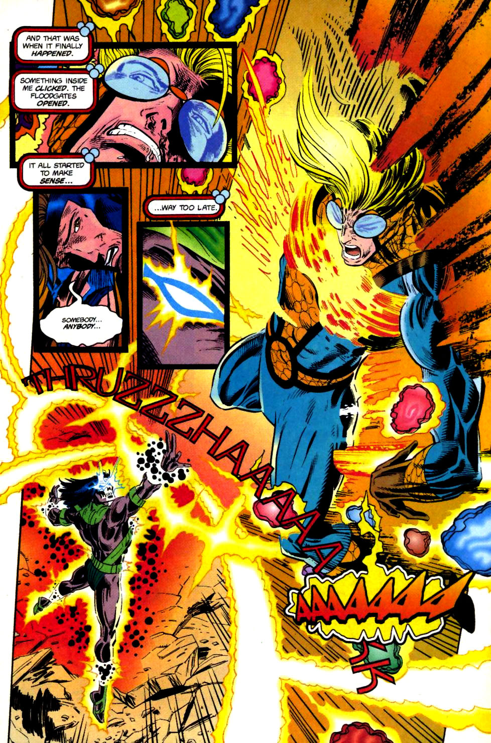 The New Warriors Issue #69 #73 - English 18