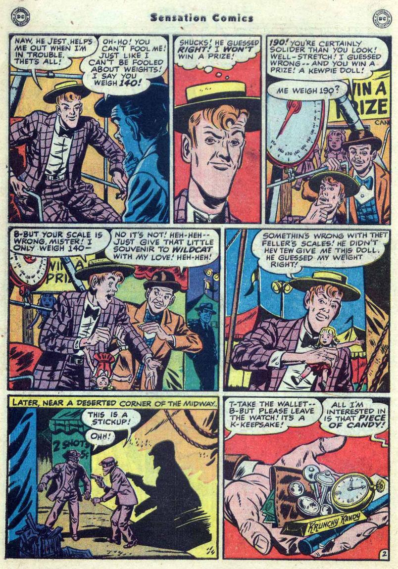 Read online Sensation (Mystery) Comics comic -  Issue #82 - 44