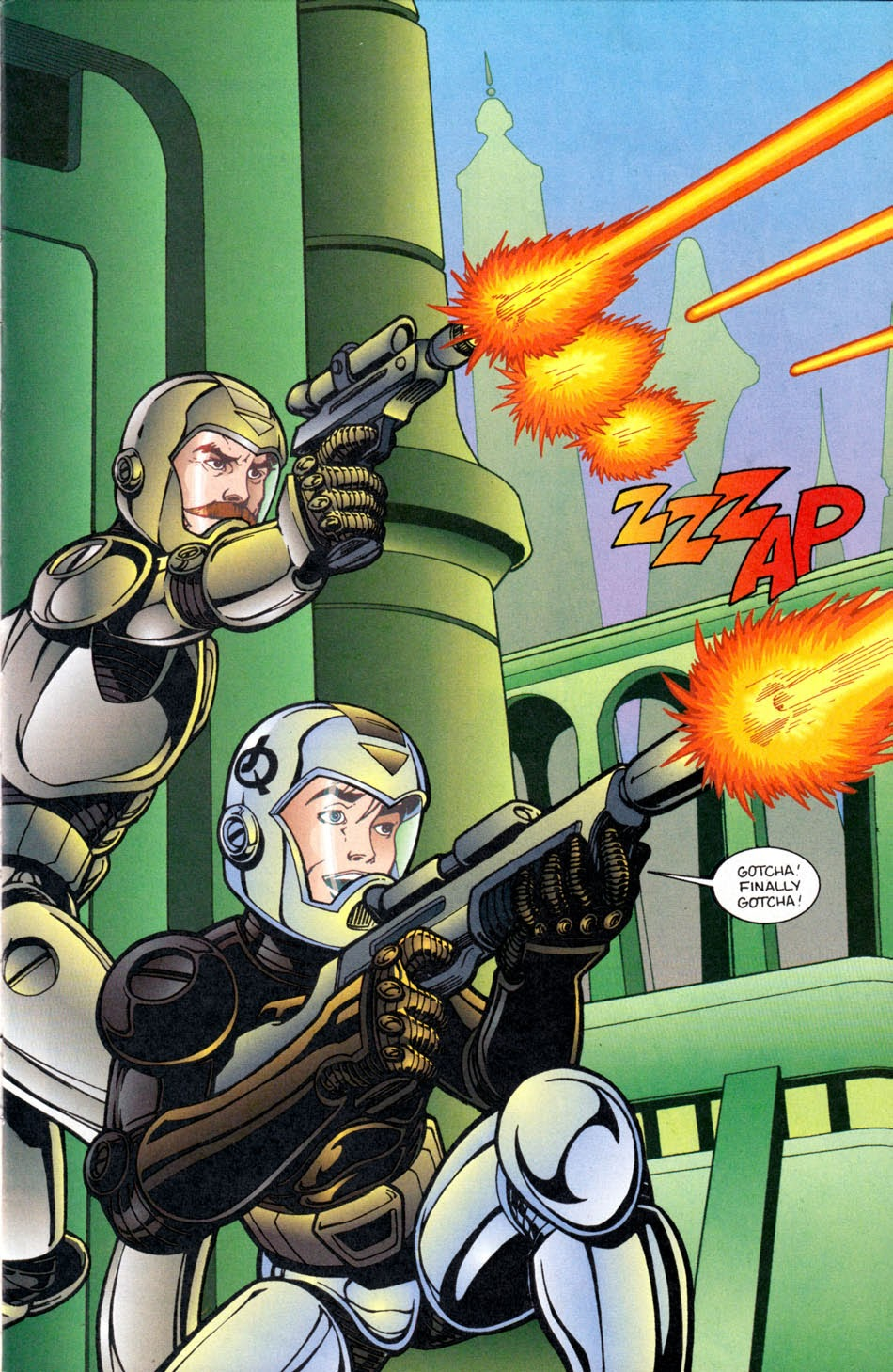 Read online The Real Adventures of Jonny Quest comic -  Issue #5 - 3