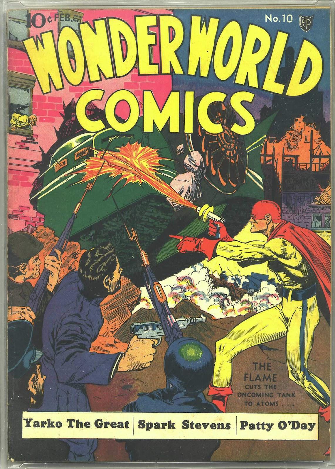 Wonderworld Comics issue 10 - Page 1