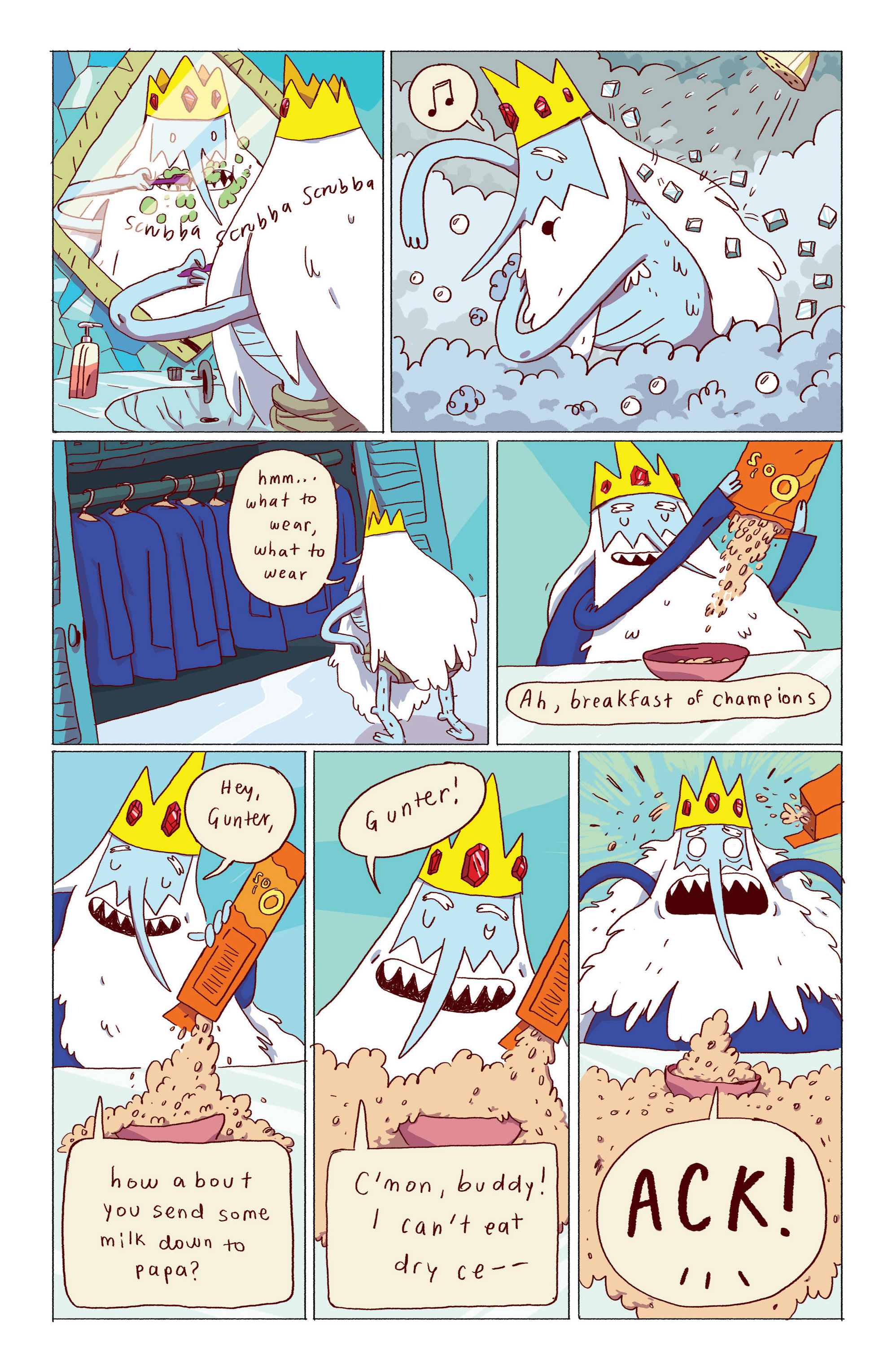 Read online Adventure Time: Ice King comic -  Issue #1 - 5