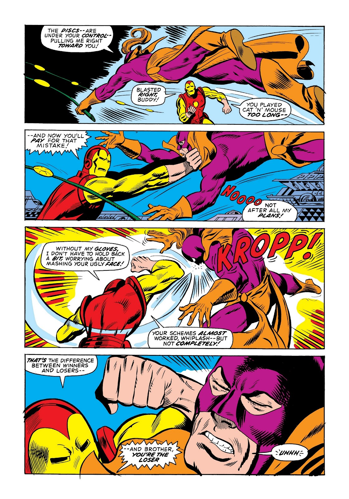 Read online Marvel Masterworks: The Invincible Iron Man comic -  Issue # TPB 9 (Part 2) - 89