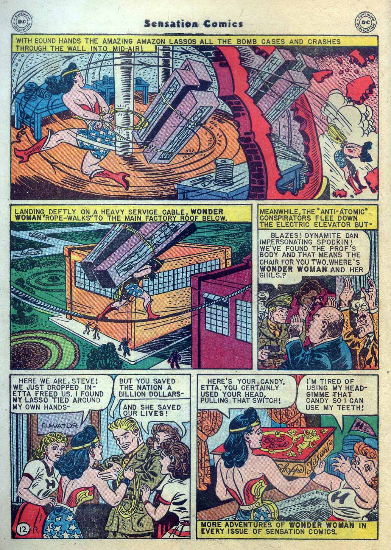 Read online Sensation (Mystery) Comics comic -  Issue #56 - 14