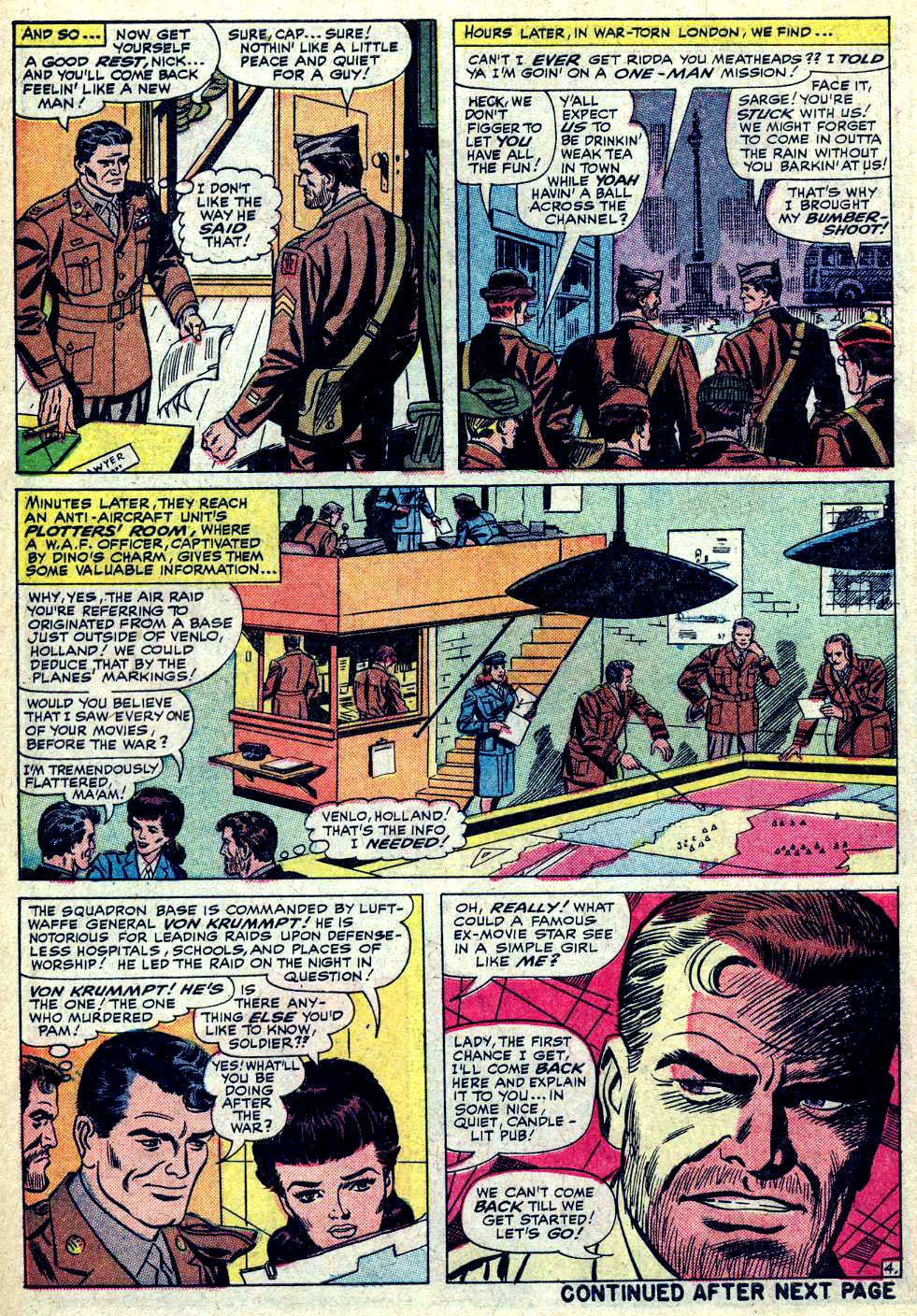 Read online Sgt. Fury comic -  Issue #19 - 6