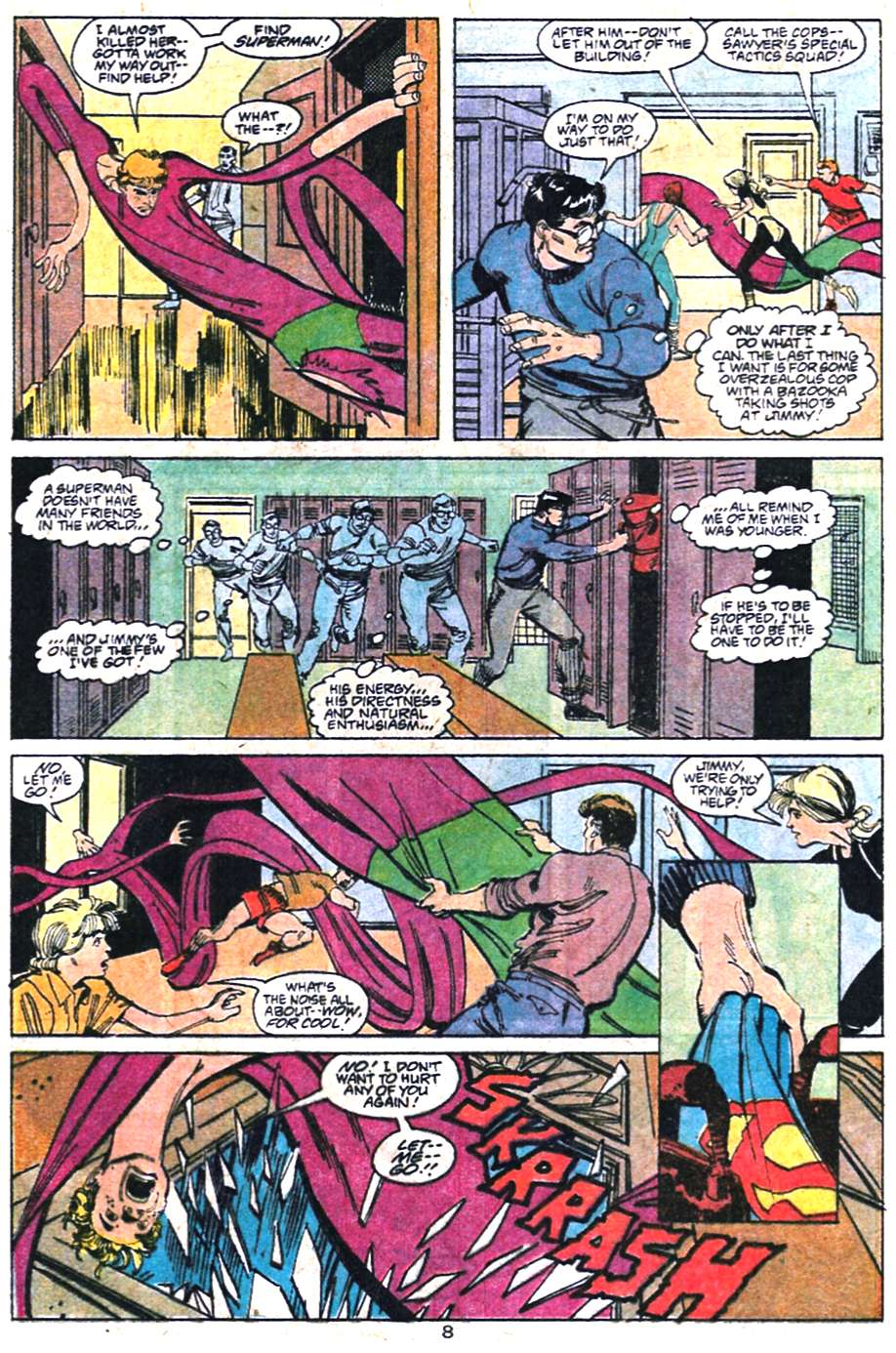 Read online Adventures of Superman (1987) comic -  Issue #458 - 9