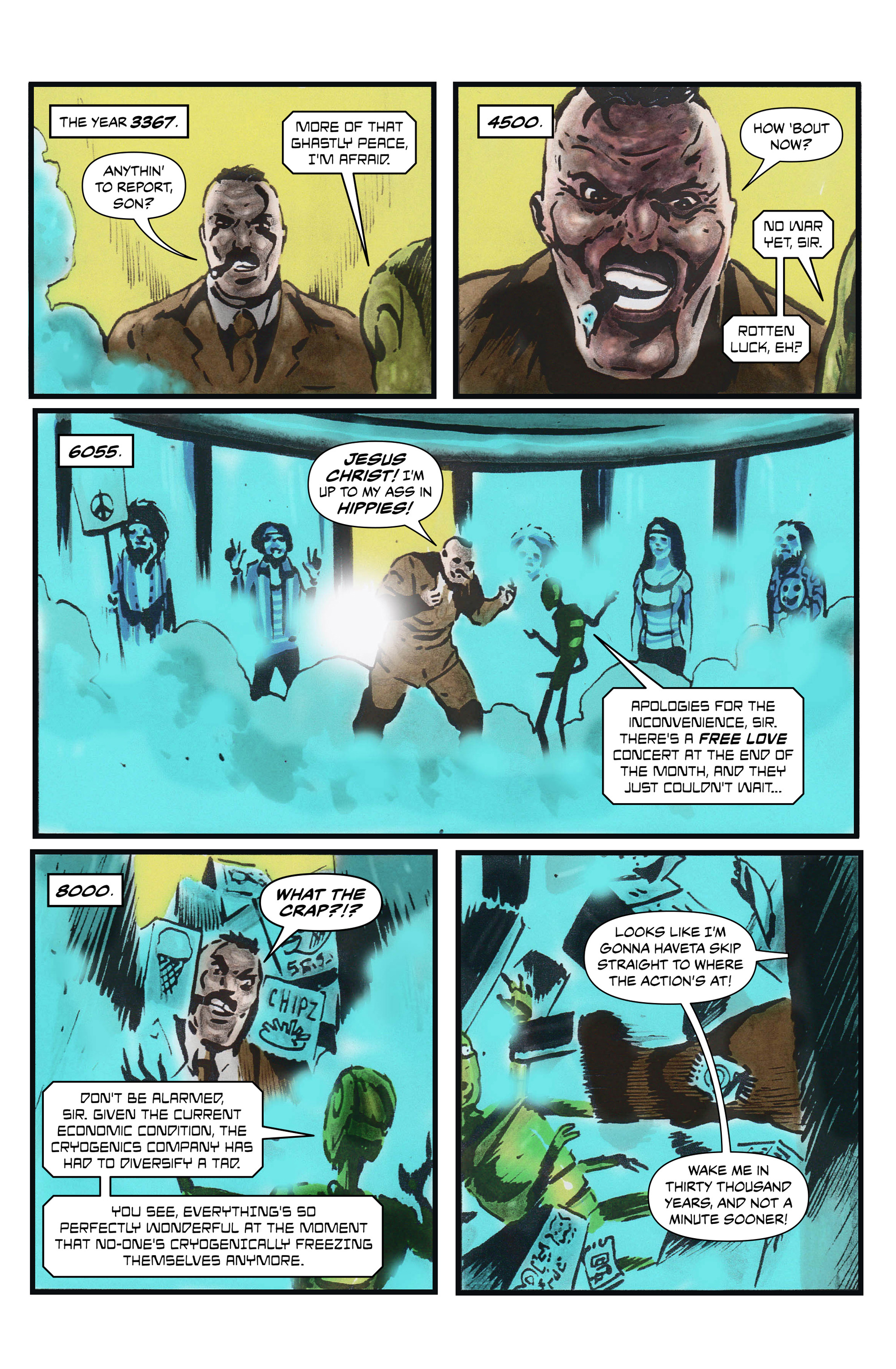 Read online 100% Biodegradable comic -  Issue #13 - 24
