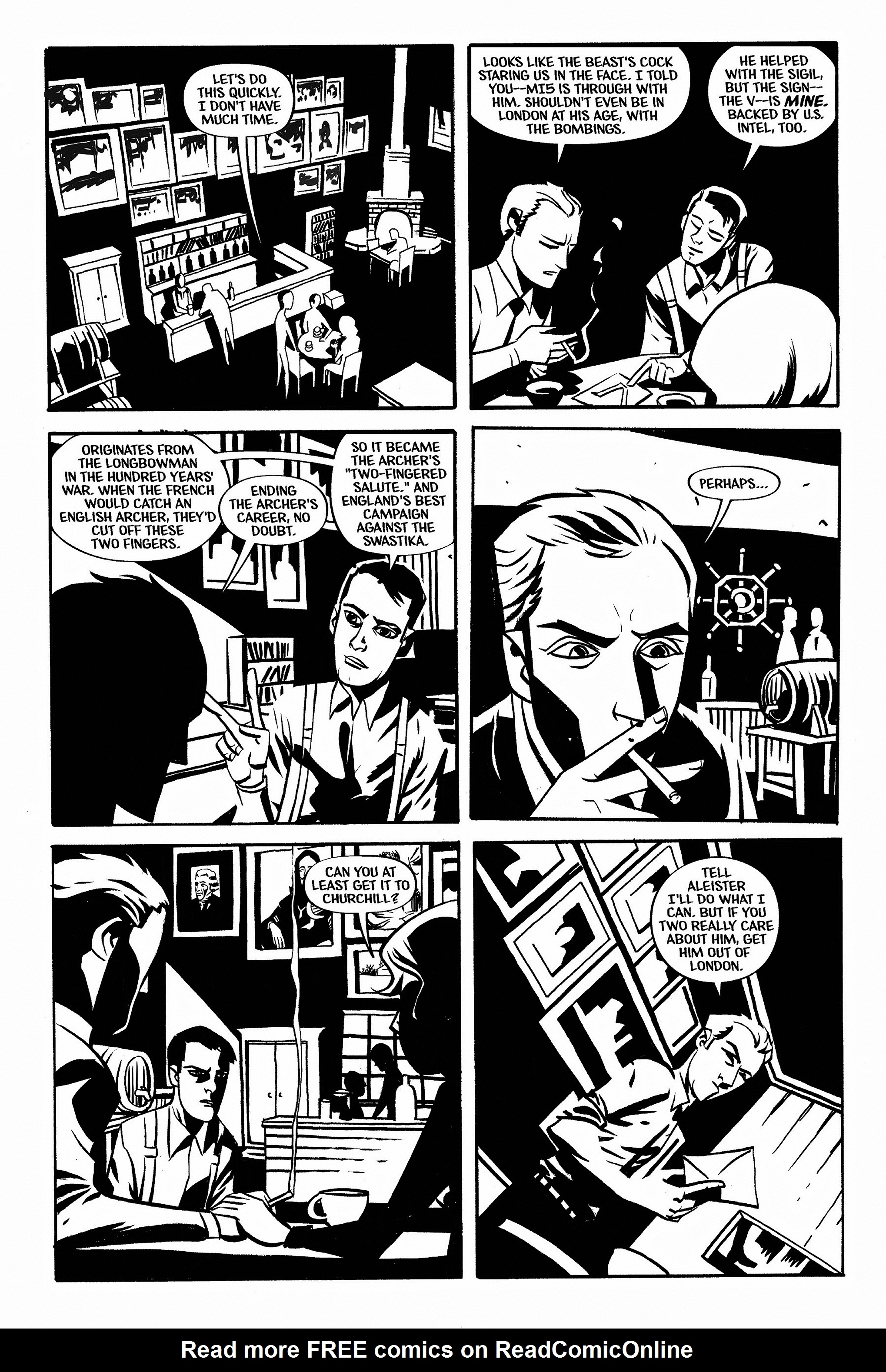 Read online Aleister & Adolf comic -  Issue # TPB - 52