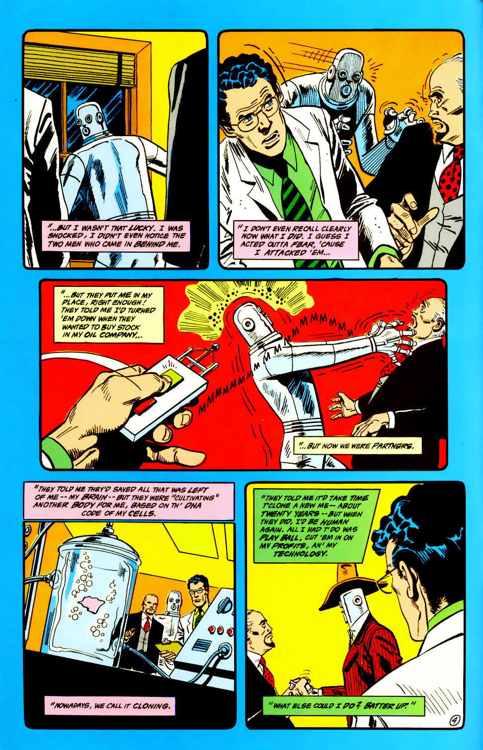 Read online Adventures of the Outsiders comic -  Issue #45 - 5