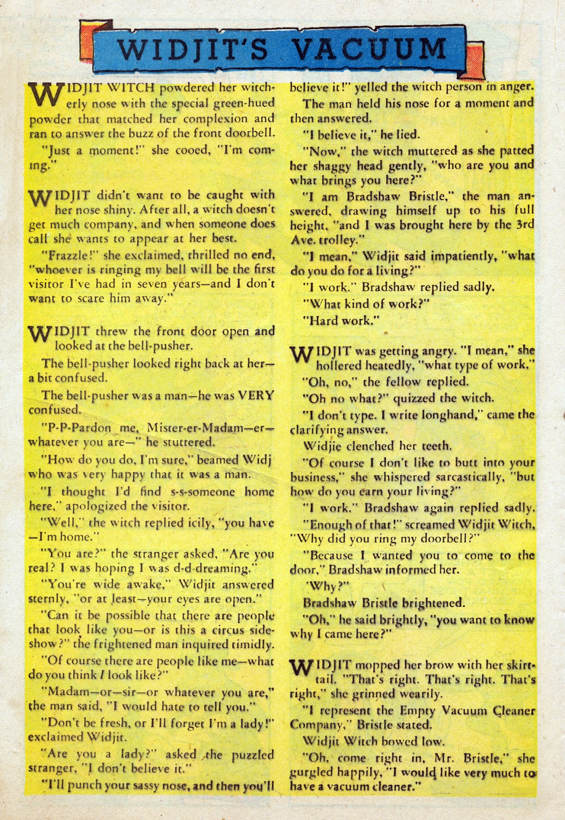 Read online Comedy Comics (1942) comic -  Issue #24 - 31