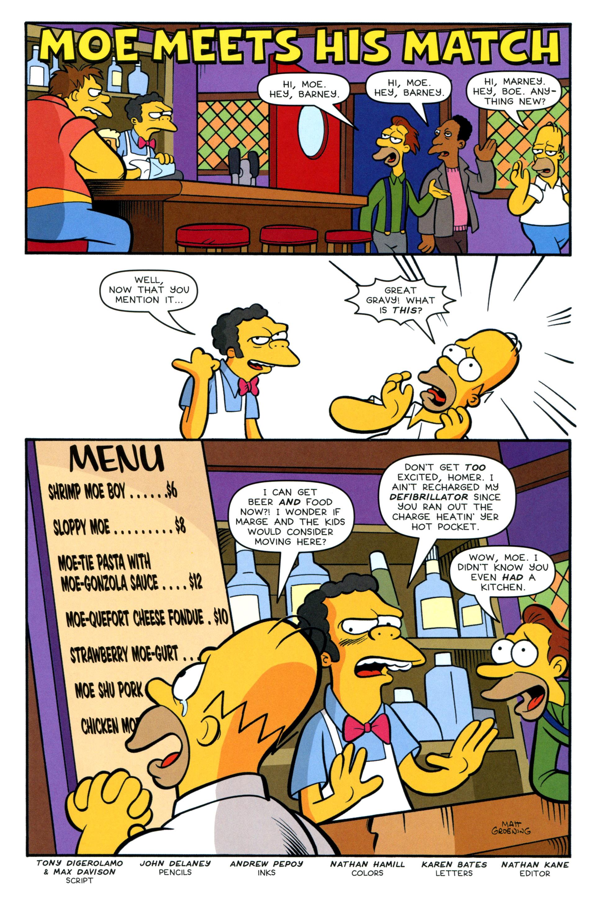 Read online Simpsons Comics comic -  Issue #200 - 32